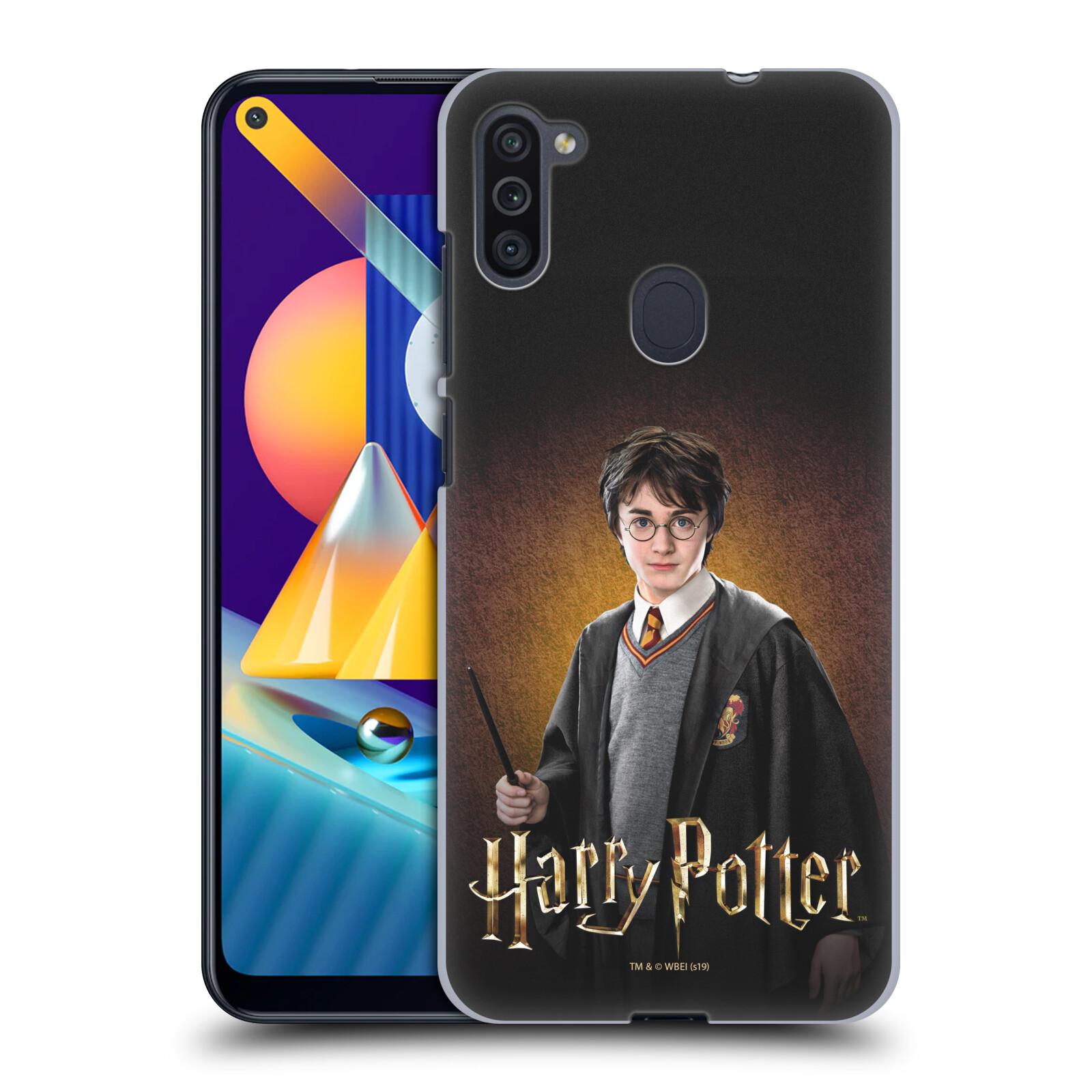 Plastové pouzdro na mobil Samsung Galaxy M11 - Harry Potter - Malý Harry Potter
