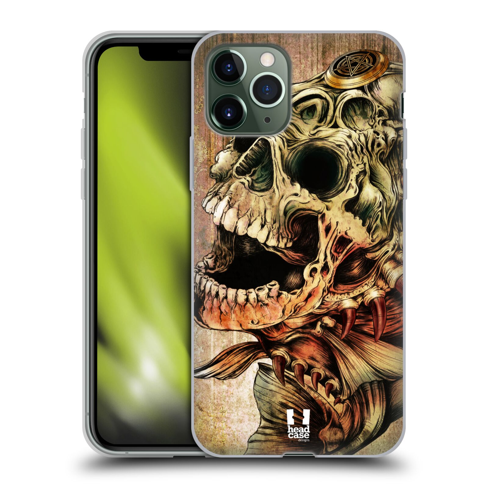 etui na iphone 7 gucci | Silikonové pouzdro na mobil Apple iPhone 11 Pro - Head Case - PIRANHA