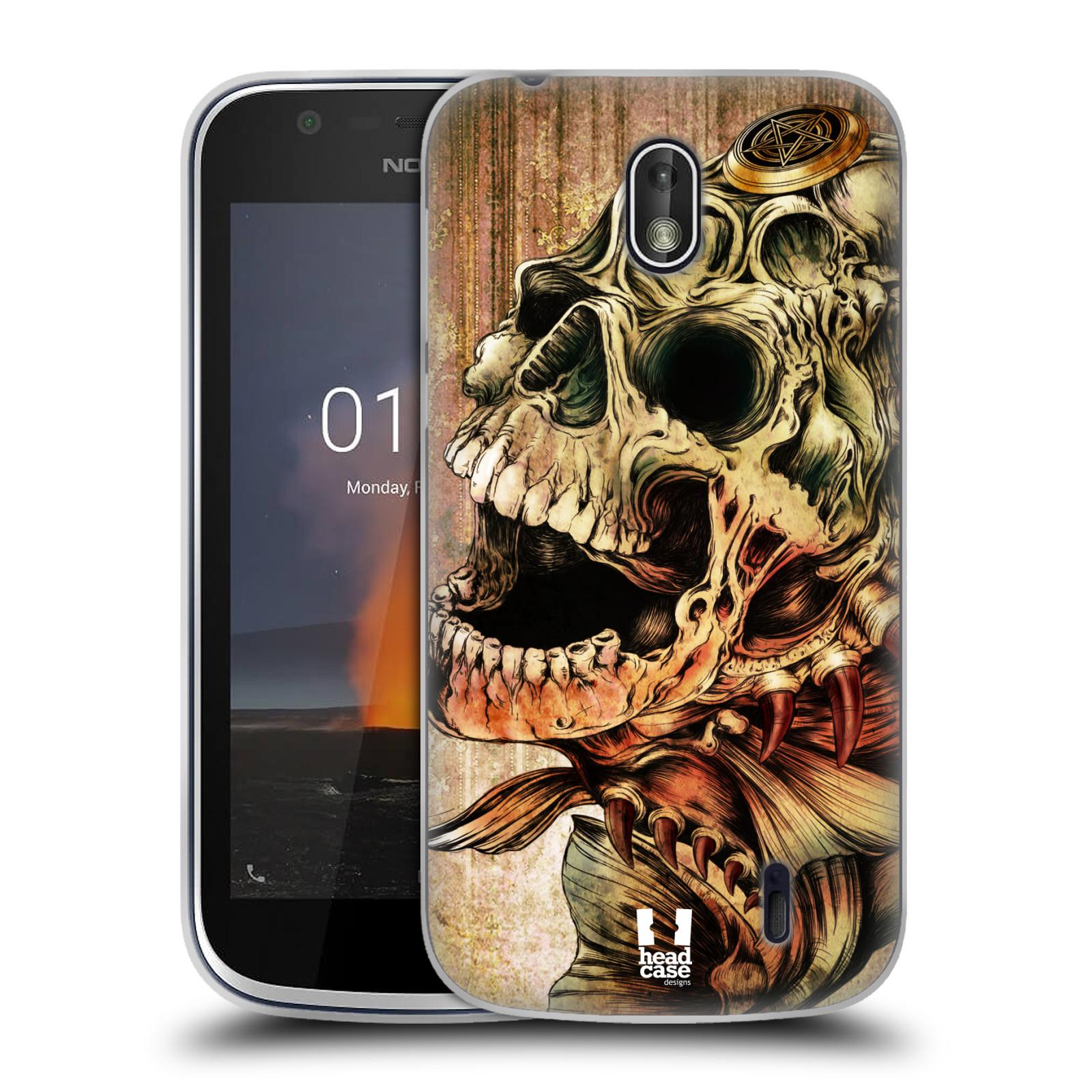 Silikonové pouzdro na mobil Nokia 1 - Head Case - PIRANHA