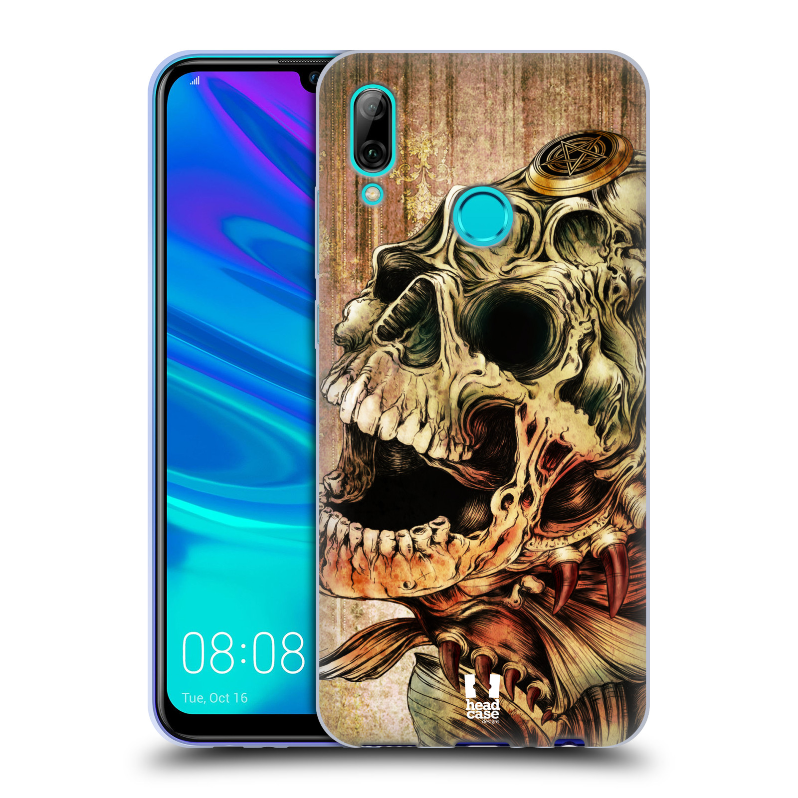 Silikonové pouzdro na mobil Huawei P Smart (2019) - Head Case - PIRANHA