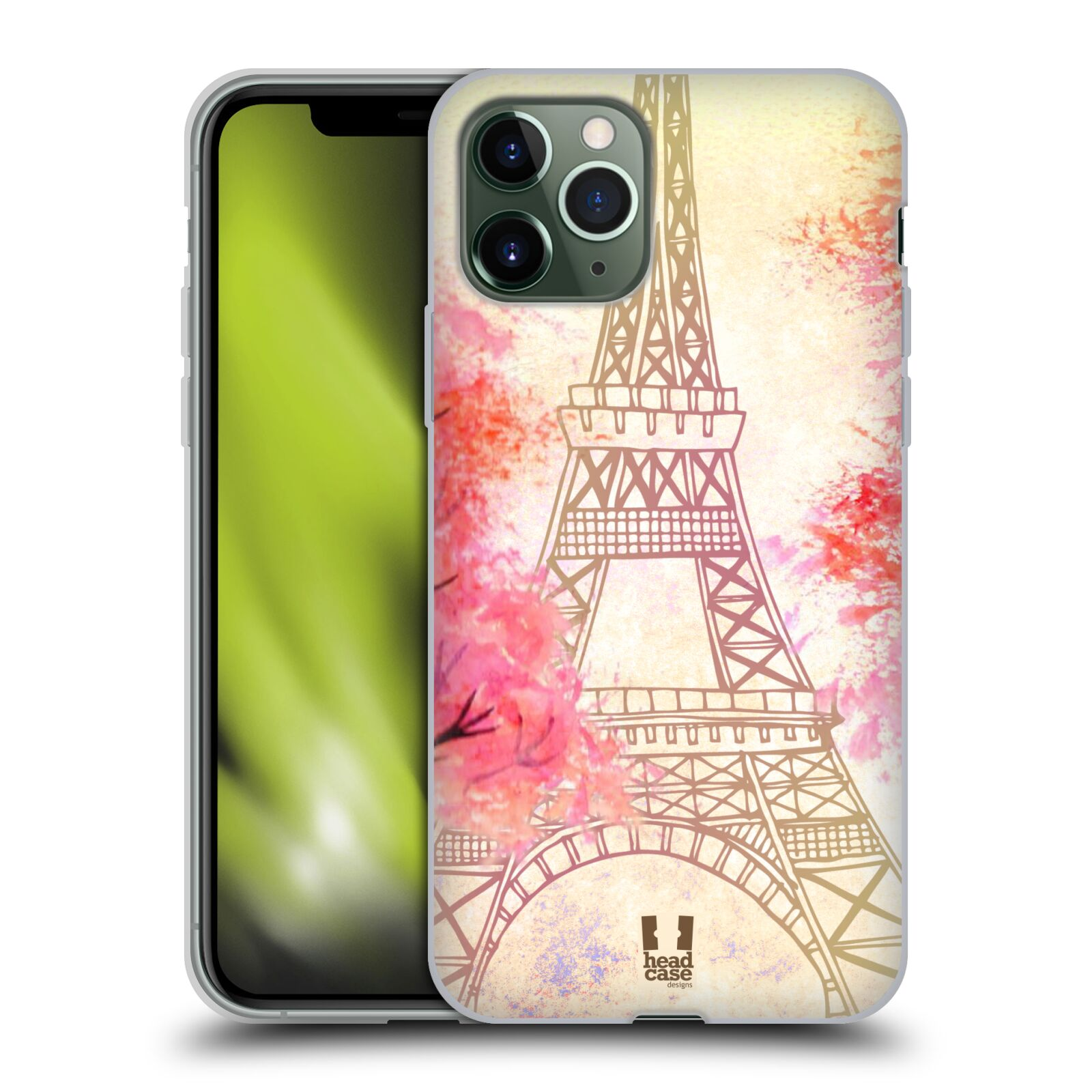 gucci iphone x cover india , Silikonové pouzdro na mobil Apple iPhone 11 Pro - Head Case - PAŘÍŽ TREES