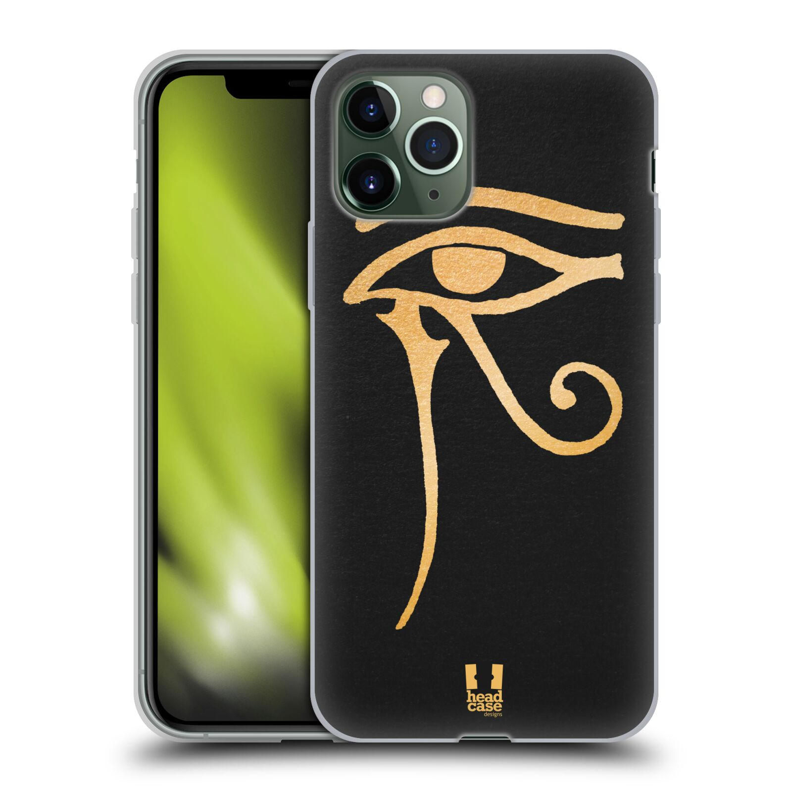 gucci iphone 8 snake case - Silikonové pouzdro na mobil Apple iPhone 11 Pro - Head Case - EGYPT OKO BOHA RA