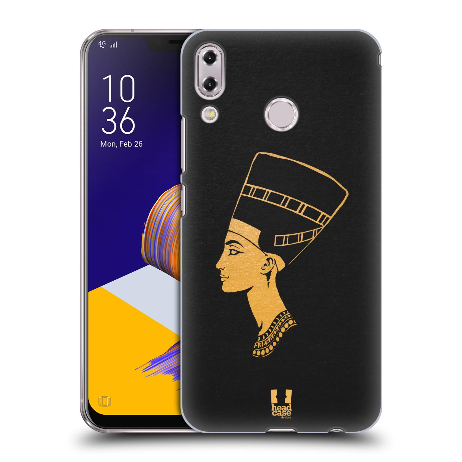 Plastové pouzdro na mobil Asus Zenfone 5z ZS620KL - Head Case - EGYPT NEFERTITI (Plastový kryt či obal na mobilní telefon Asus Zenfone 5z (ZS620KL) s motivem EGYPT NEFERTITI)