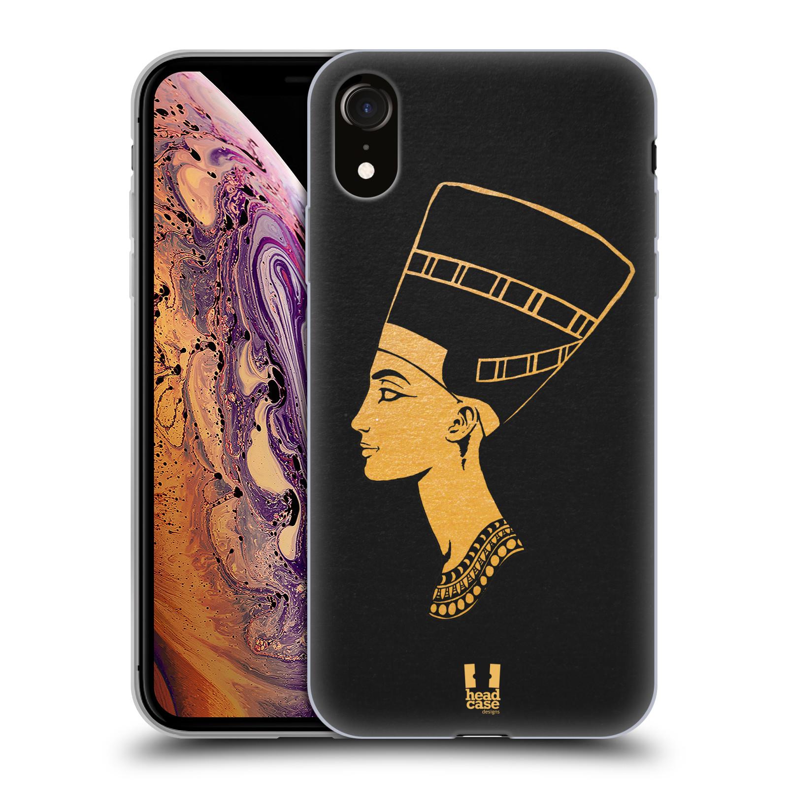 Silikonové pouzdro na mobil Apple iPhone XR - Head Case - EGYPT NEFERTITI