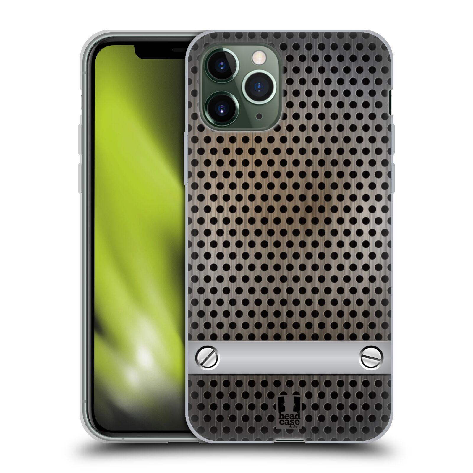 apple iphone xs obal - Silikonové pouzdro na mobil Apple iPhone 11 Pro - Head Case - INDUSTRIAL SHEET