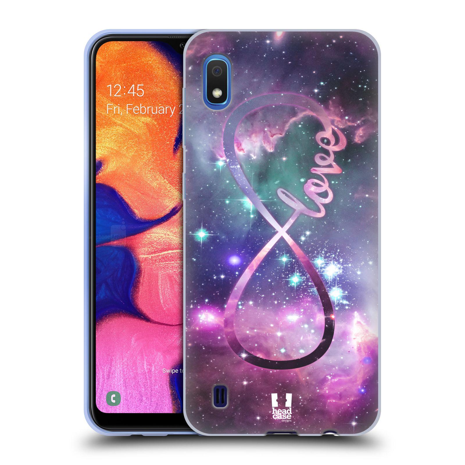 Silikonové pouzdro na mobil Samsung Galaxy A10 - Head Case - NEKONEČNÁ LÁSKA