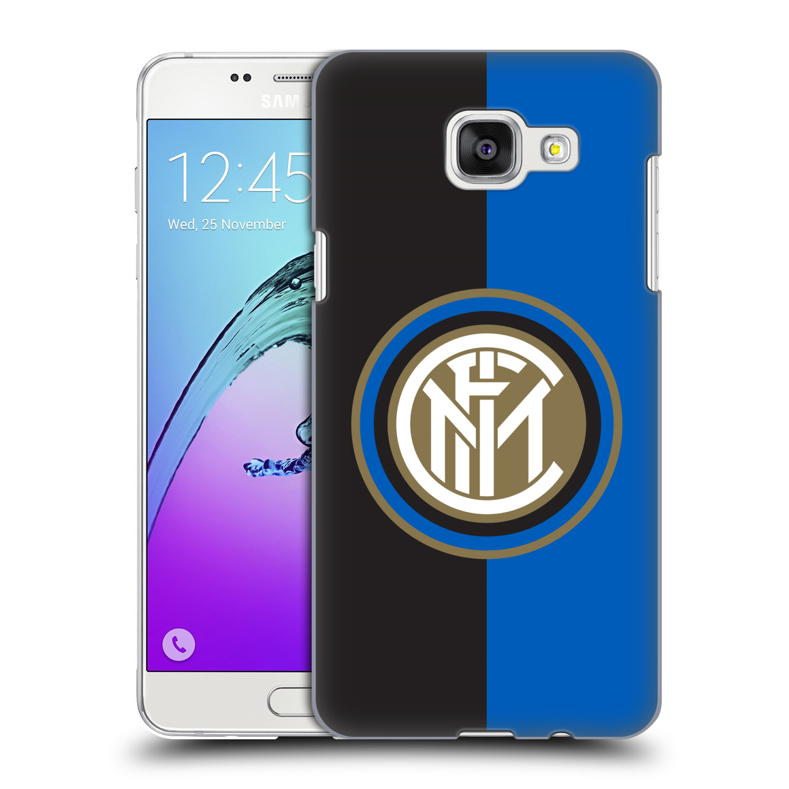Plastové pouzdro na mobil Samsung Galaxy A5 (2016) - Head Case - Inter Milan - Black and blue