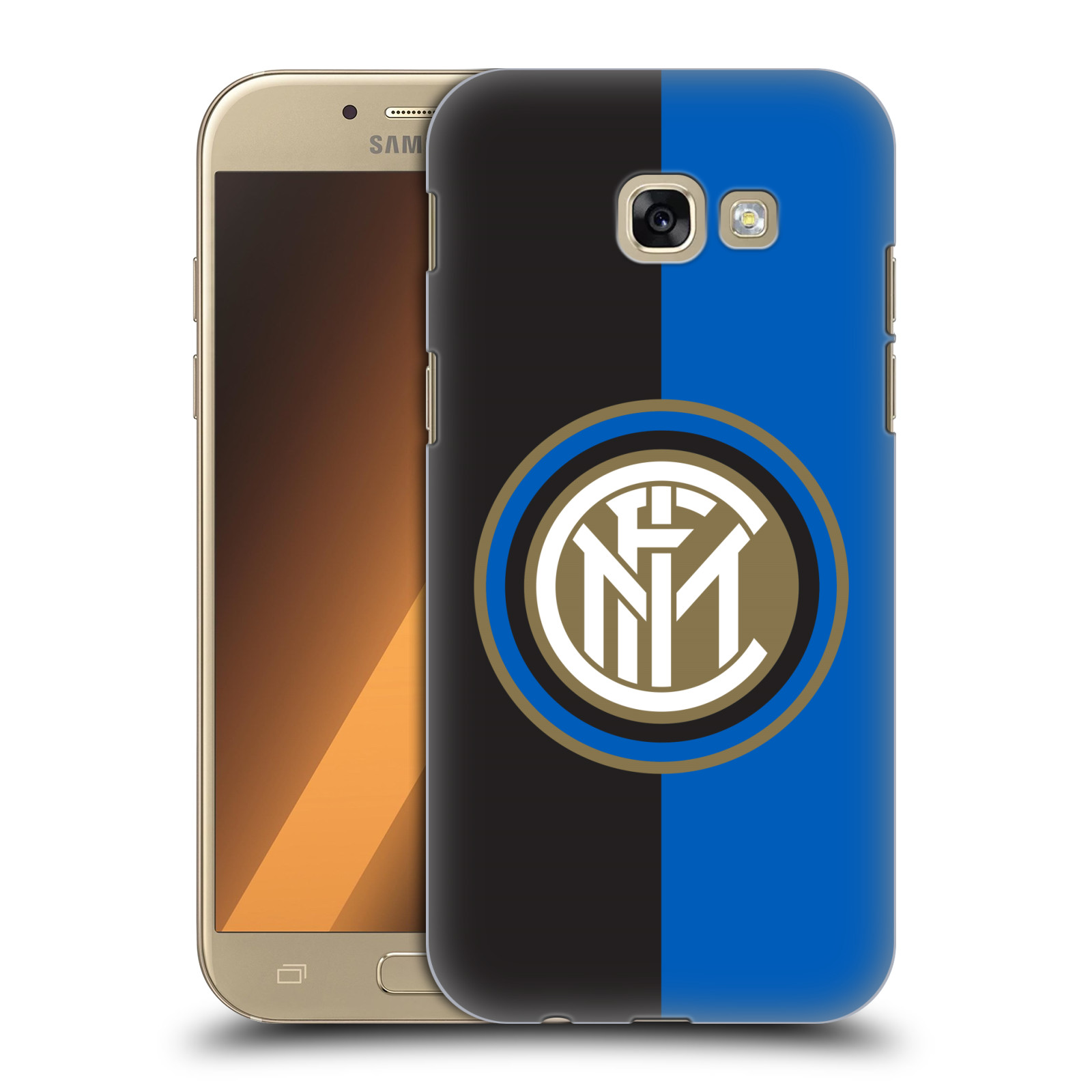 Plastové pouzdro na mobil Samsung Galaxy A5 (2017) - Head Case - Inter Milan - Black and blue