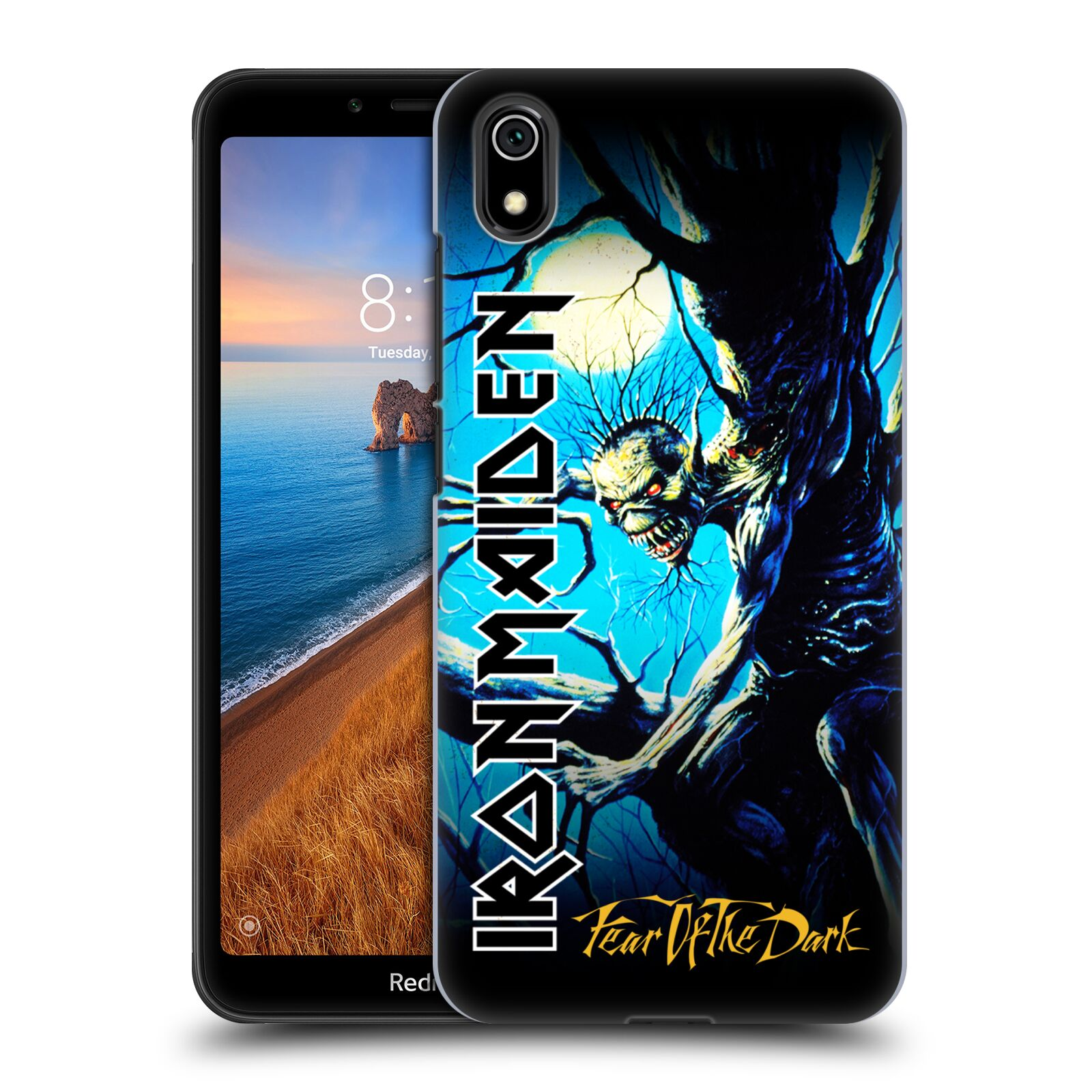 Plastové pouzdro na mobil Xiaomi Redmi 7A - Head Case - Iron Maiden - Fear Of The Dark