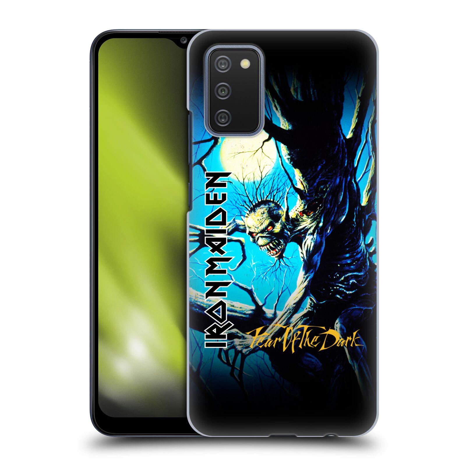 Plastové pouzdro na mobil Samsung Galaxy A02s - Head Case - Iron Maiden - Fear Of The Dark