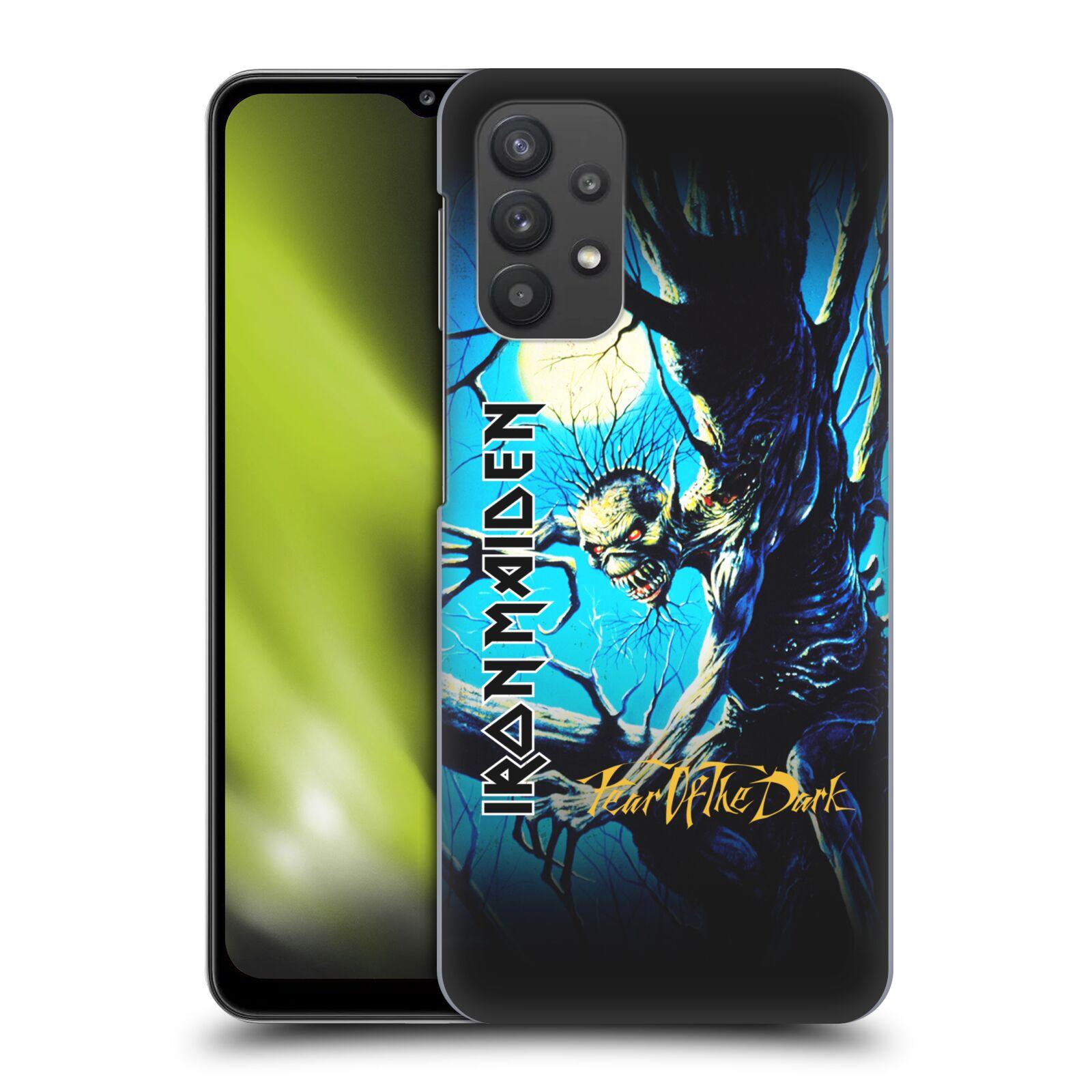 Plastové pouzdro na mobil Samsung Galaxy A32 5G - Head Case - Iron Maiden - Fear Of The Dark