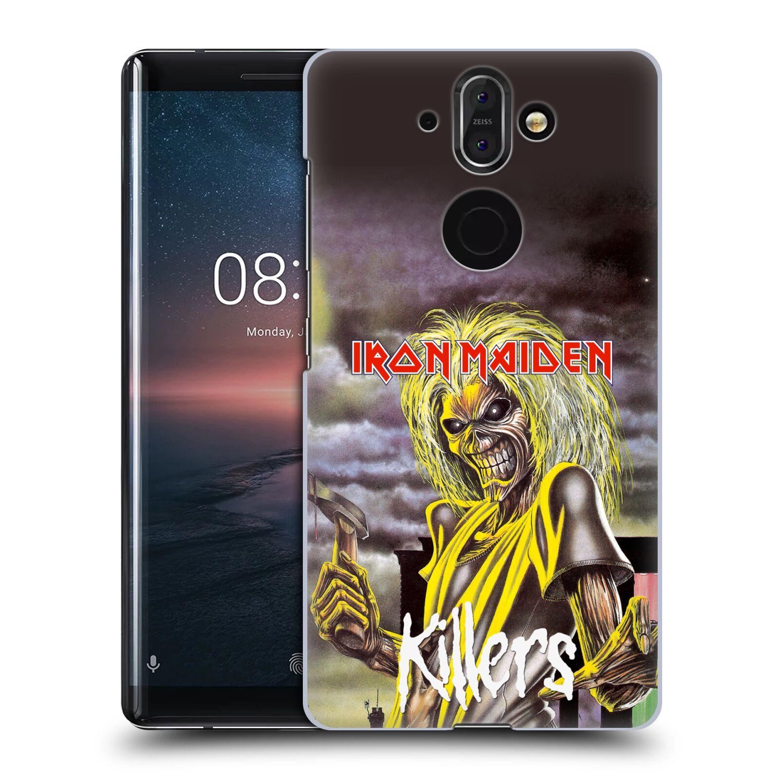 Plastové pouzdro na mobil Nokia 8 Sirocco - Head Case - Iron Maiden - Killers