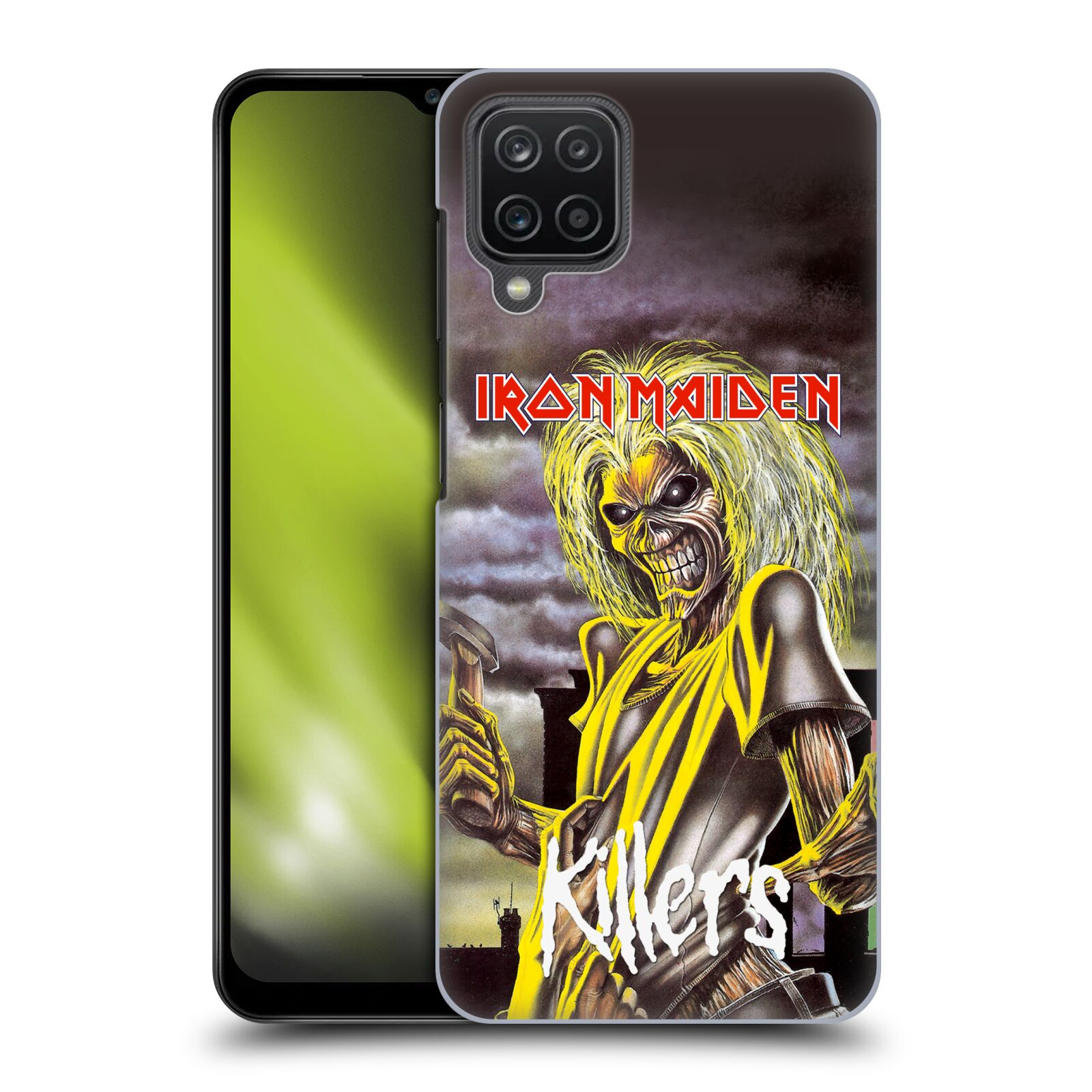 Plastové pouzdro na mobil Samsung Galaxy A12 - Head Case - Iron Maiden - Killers