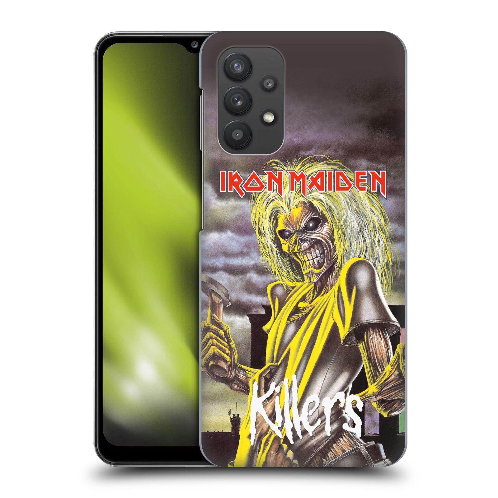 Plastové pouzdro na mobil Samsung Galaxy A32 5G - Head Case - Iron Maiden - Killers