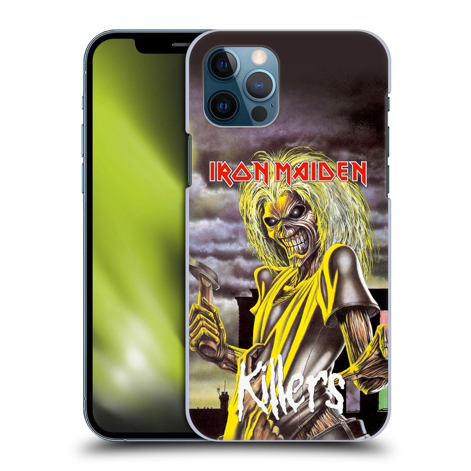 Plastové pouzdro na mobil Apple iPhone 12 / 12 Pro - Head Case - Iron Maiden - Killers