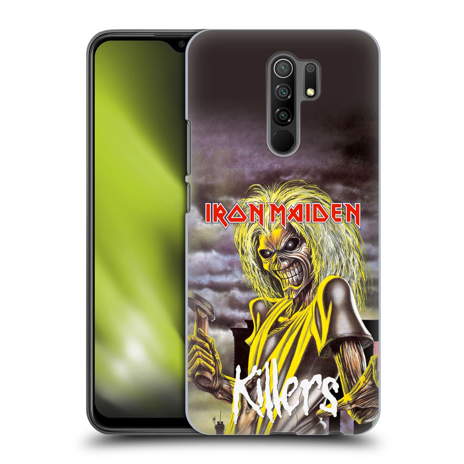 Plastové pouzdro na mobil Xiaomi Redmi 9 - Head Case - Iron Maiden - Killers