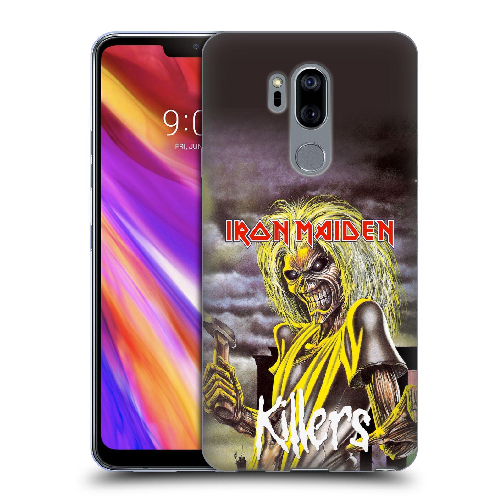 Silikonové pouzdro na mobil LG G7 ThinQ - Head Case - Iron Maiden - Killers  ( 36a3b8e8607