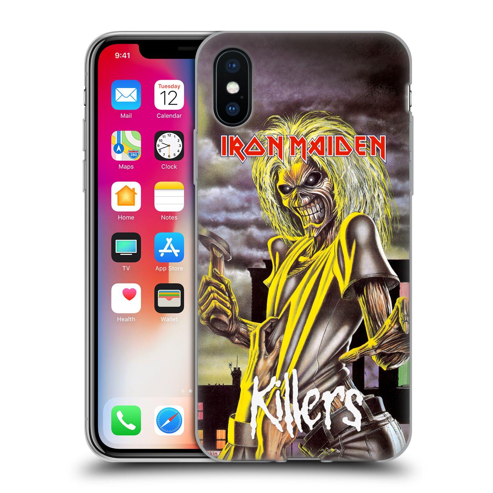 Silikonové pouzdro na mobil Apple iPhone XS - Head Case - Iron Maiden -  Killers ( 78b44420a79
