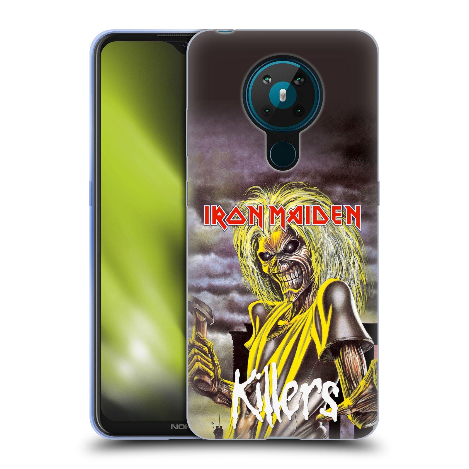 Silikonové pouzdro na mobil Nokia 5.3 - Head Case - Iron Maiden - Killers