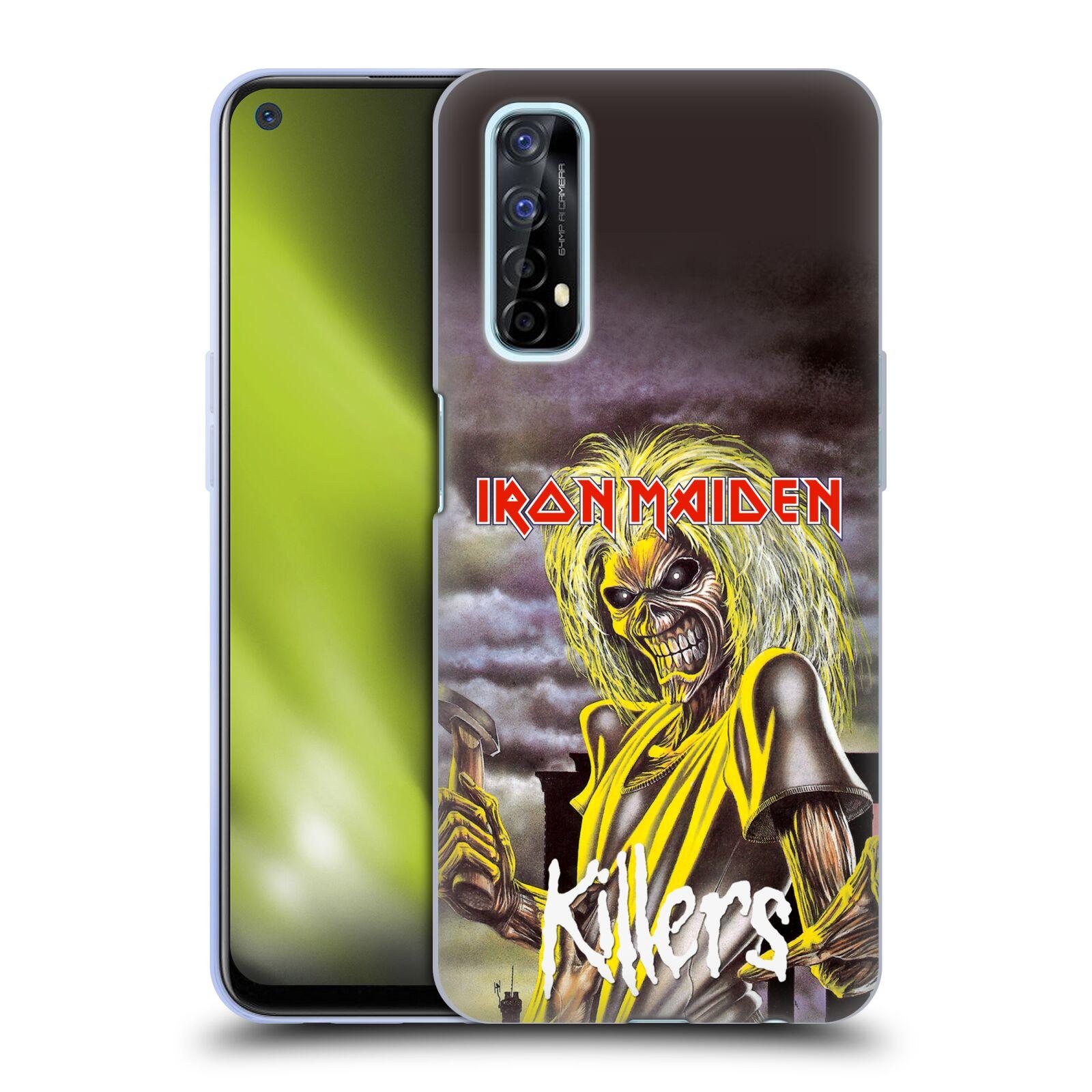 Silikonové pouzdro na mobil Realme 7 - Head Case - Iron Maiden - Killers