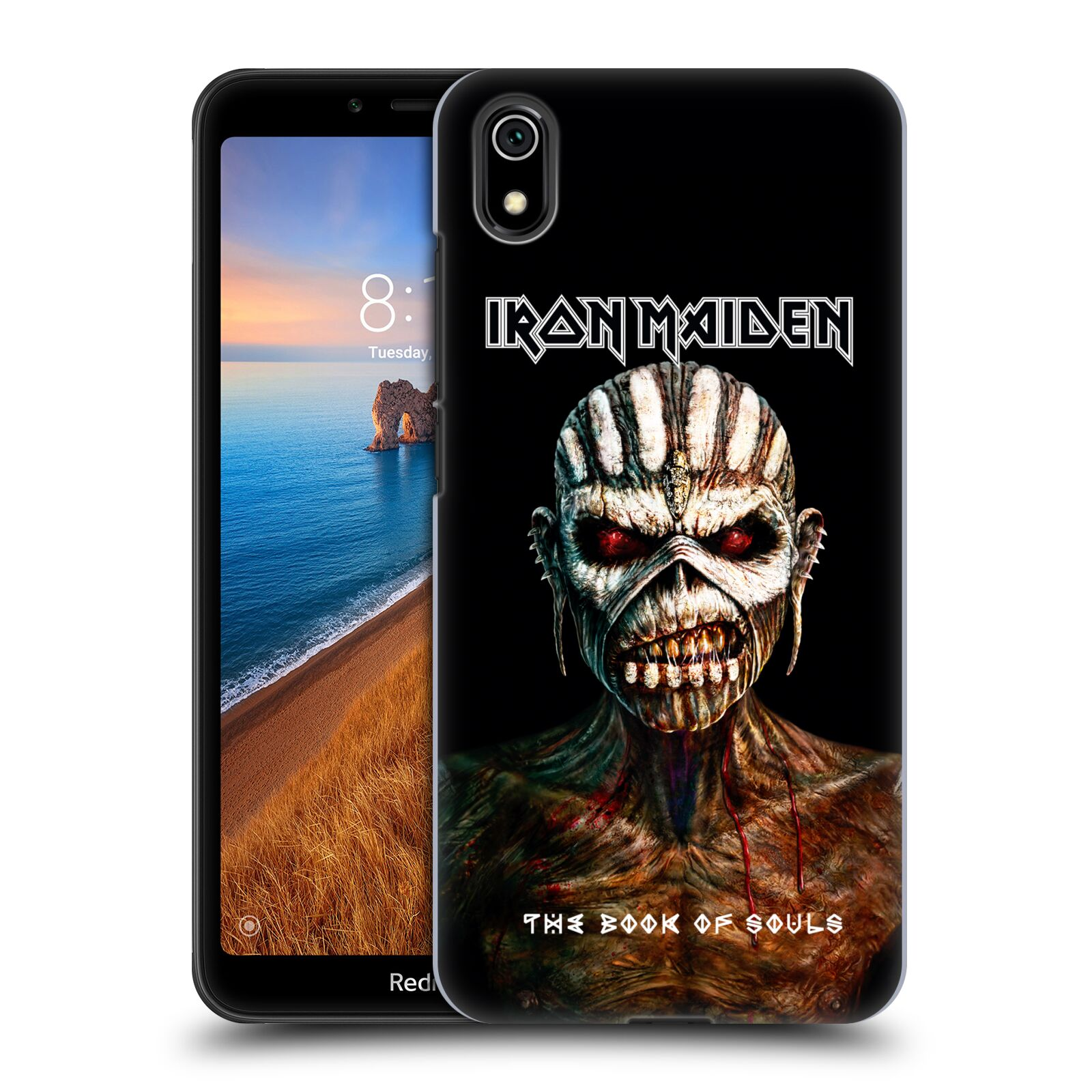 Plastové pouzdro na mobil Xiaomi Redmi 7A - Head Case - Iron Maiden - The Book Of Souls