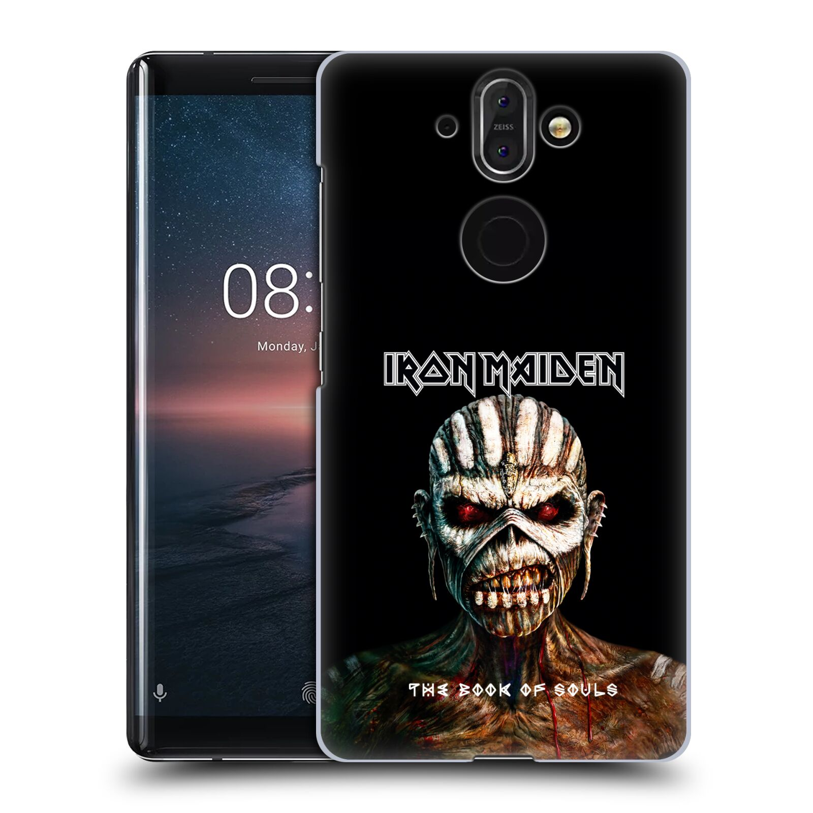 Plastové pouzdro na mobil Nokia 8 Sirocco - Head Case - Iron Maiden - The Book Of Souls