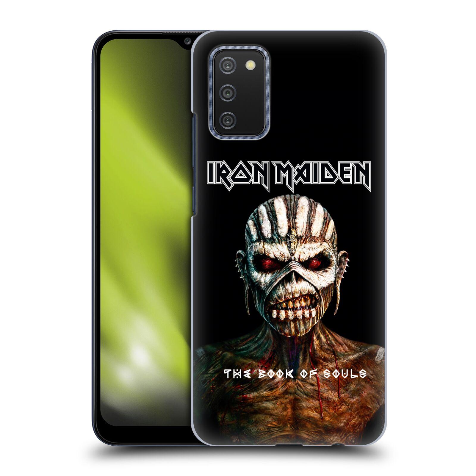 Plastové pouzdro na mobil Samsung Galaxy A02s - Head Case - Iron Maiden - The Book Of Souls