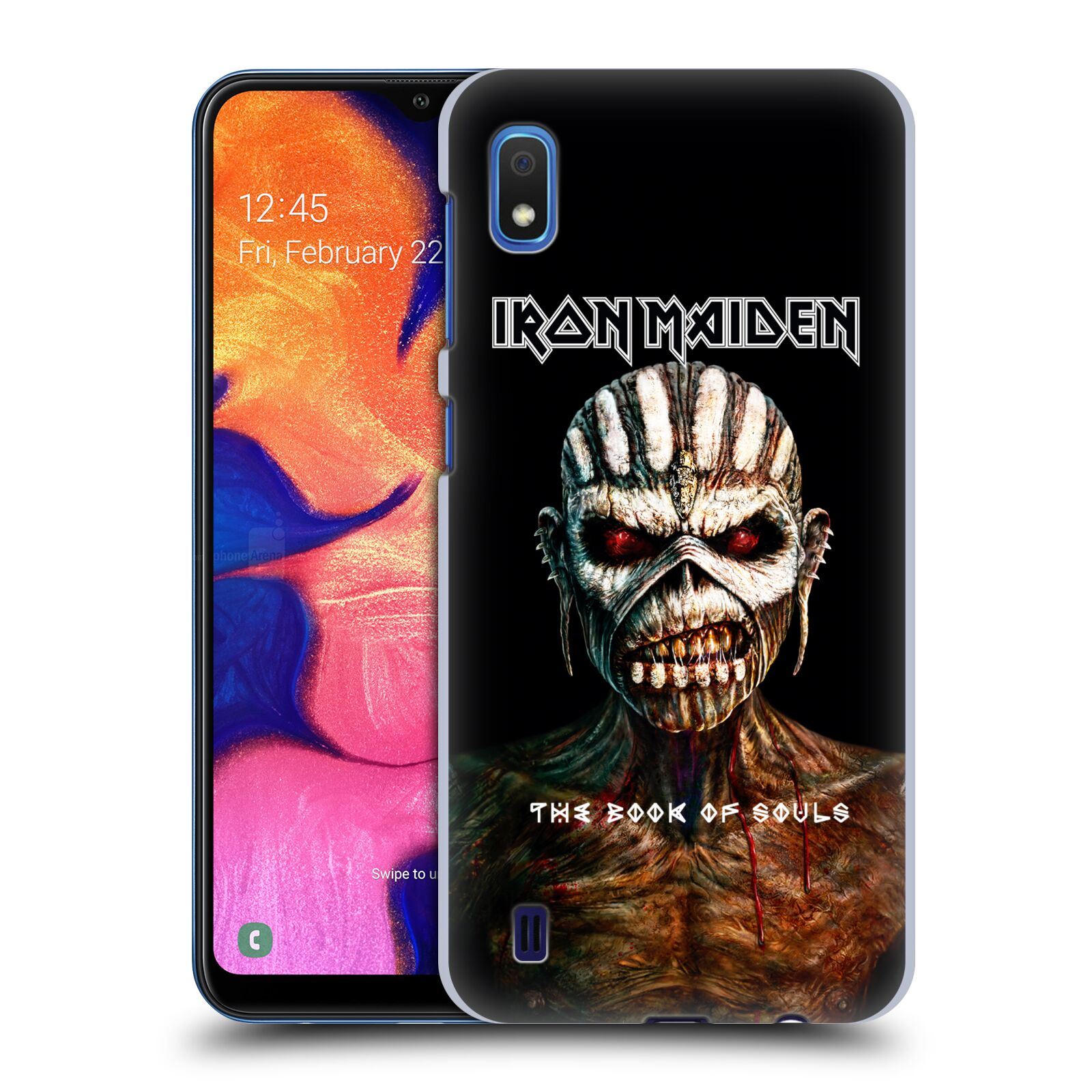 Plastové pouzdro na mobil Samsung Galaxy A10 - Head Case - Iron Maiden - The Book Of Souls