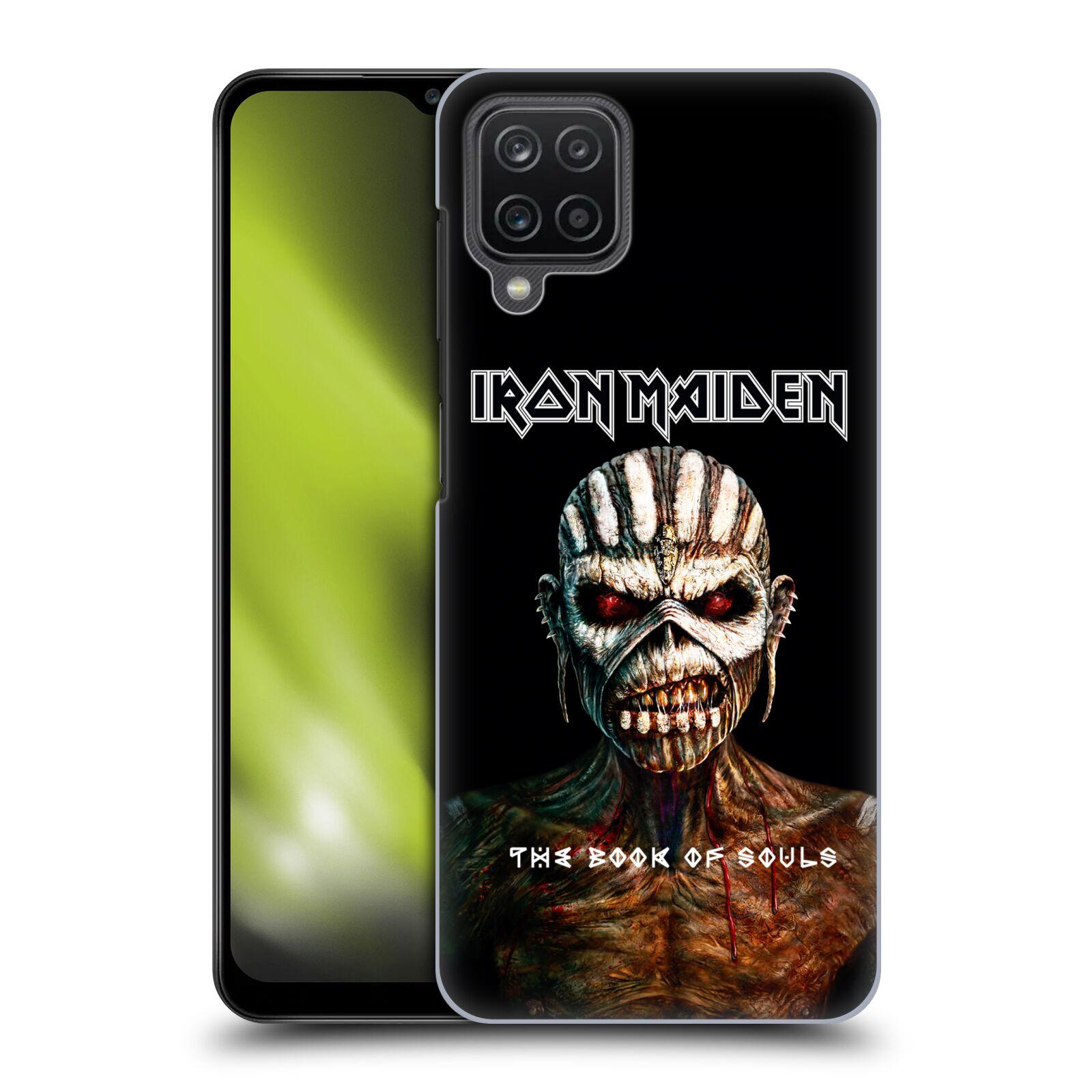 Plastové pouzdro na mobil Samsung Galaxy A12 - Head Case - Iron Maiden - The Book Of Souls