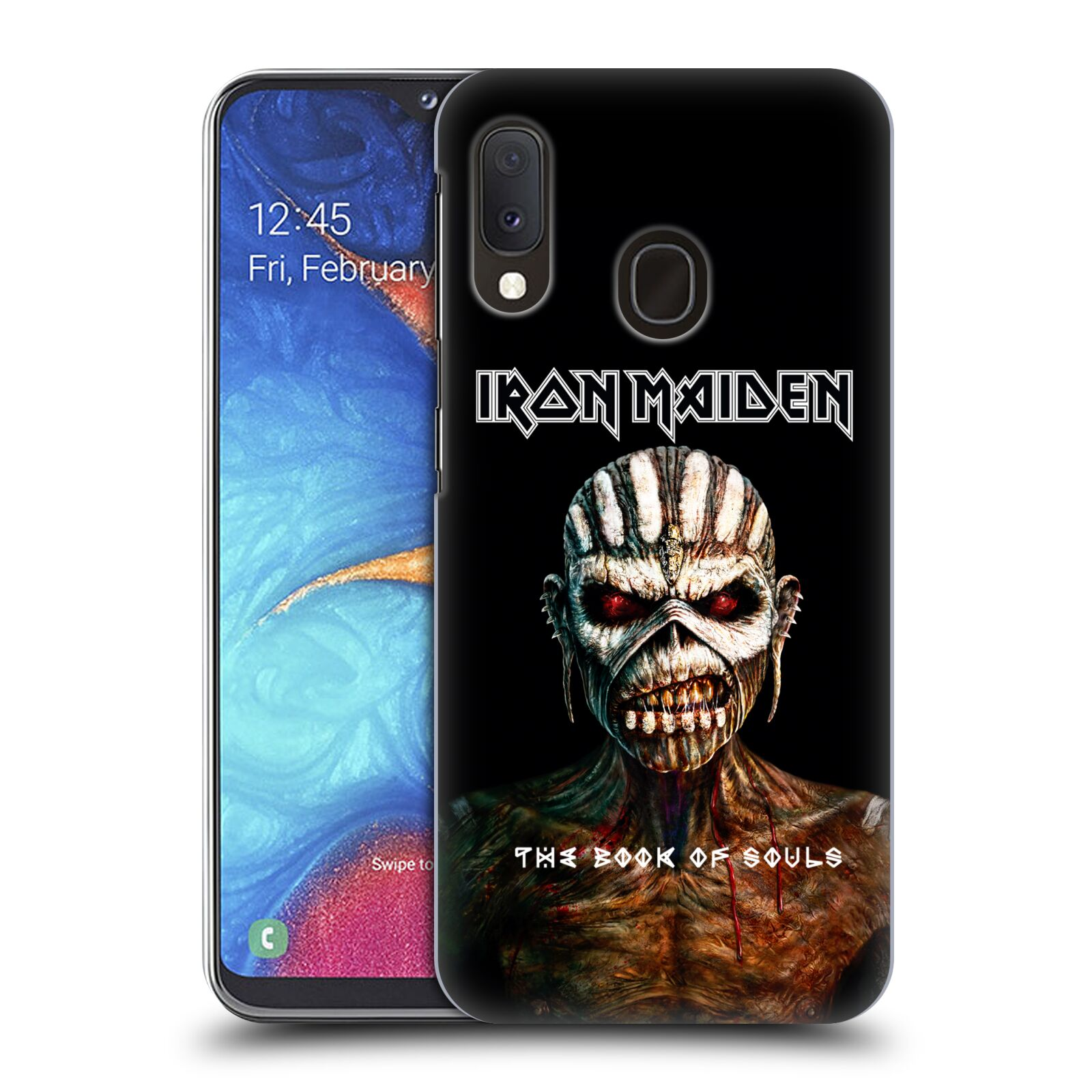 Plastové pouzdro na mobil Samsung Galaxy A20e - Head Case - Iron Maiden - The Book Of Souls