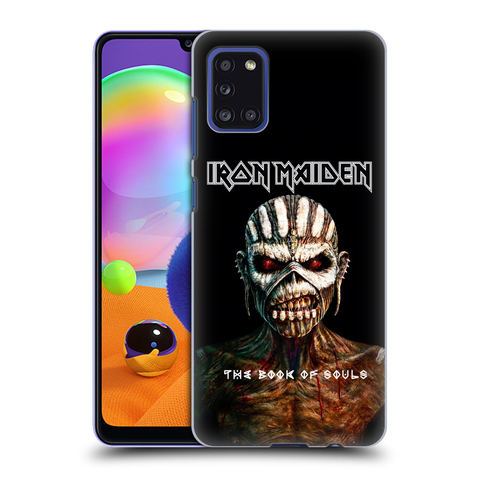 Plastové pouzdro na mobil Samsung Galaxy A31 - Head Case - Iron Maiden - The Book Of Souls