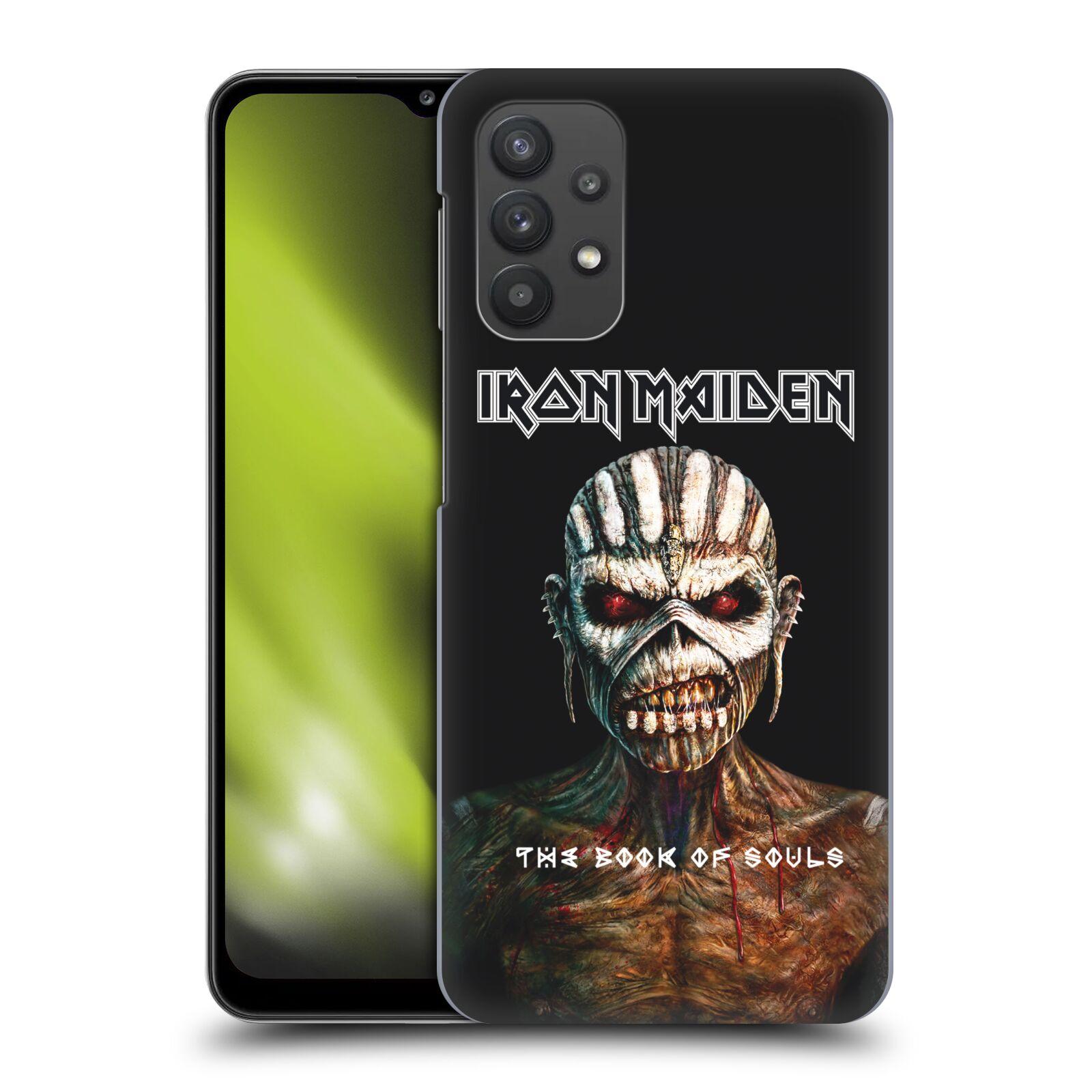 Plastové pouzdro na mobil Samsung Galaxy A32 5G - Head Case - Iron Maiden - The Book Of Souls