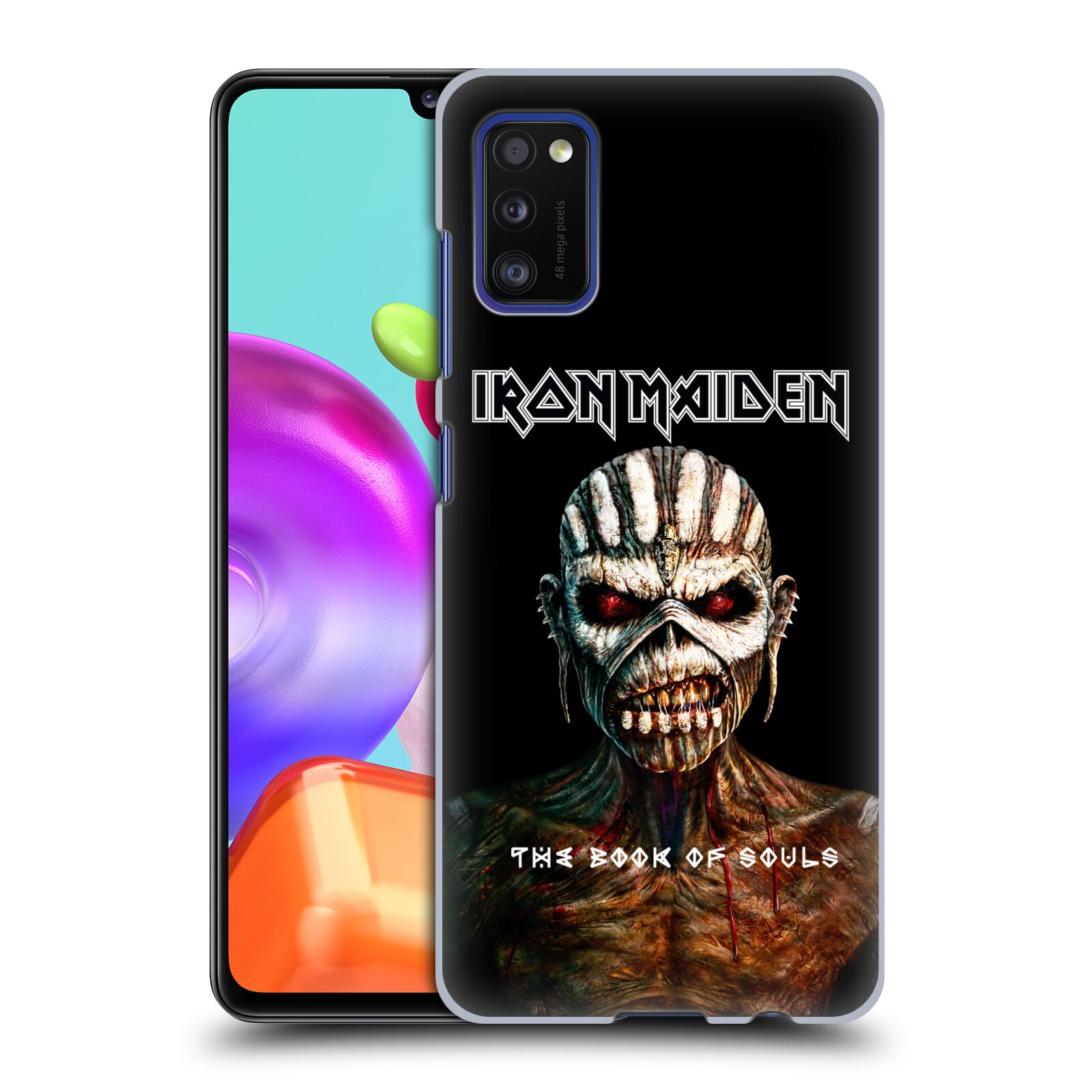 Plastové pouzdro na mobil Samsung Galaxy A41 - Head Case - Iron Maiden - The Book Of Souls