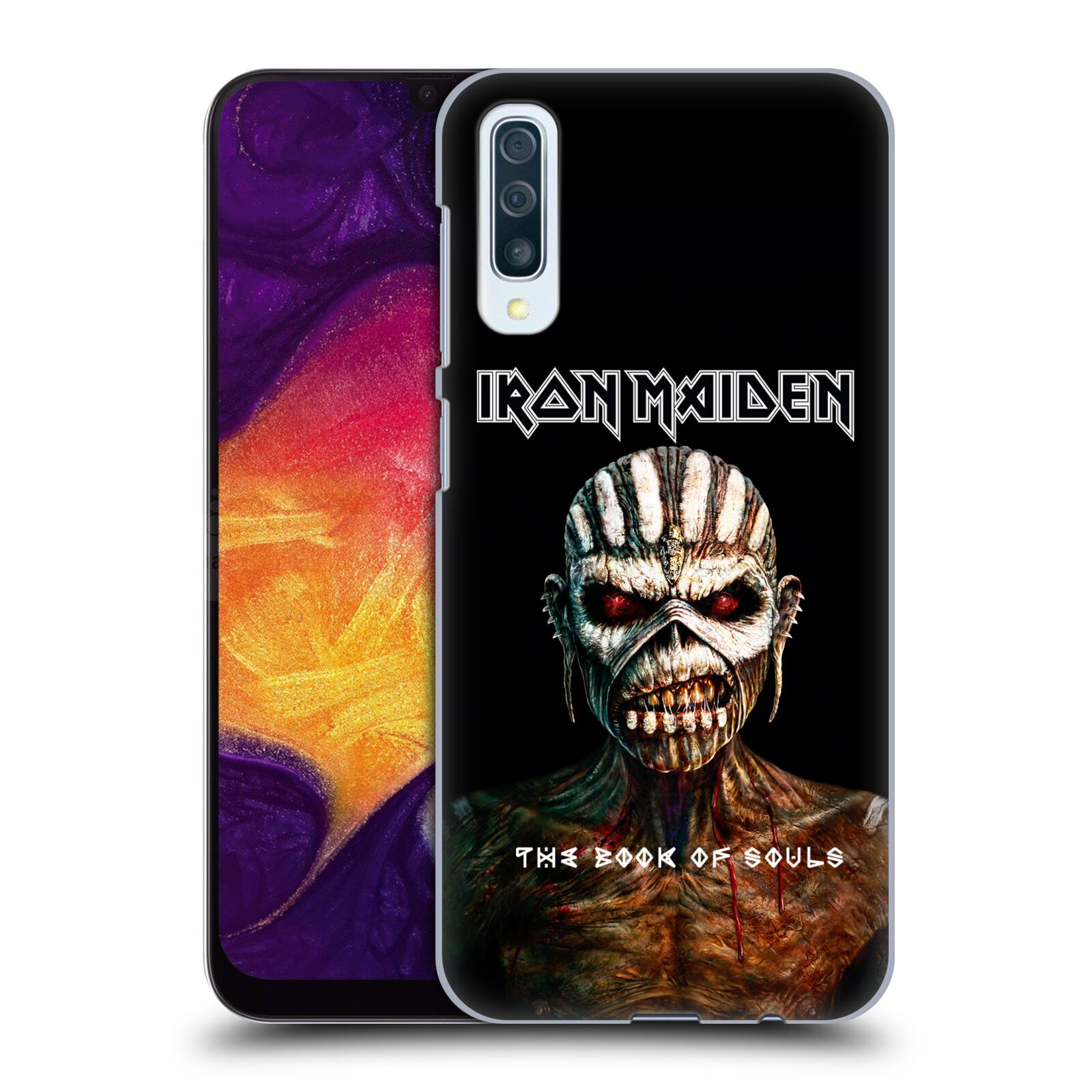 Plastové pouzdro na mobil Samsung Galaxy A50 / A30s - Head Case - Iron Maiden - The Book Of Souls