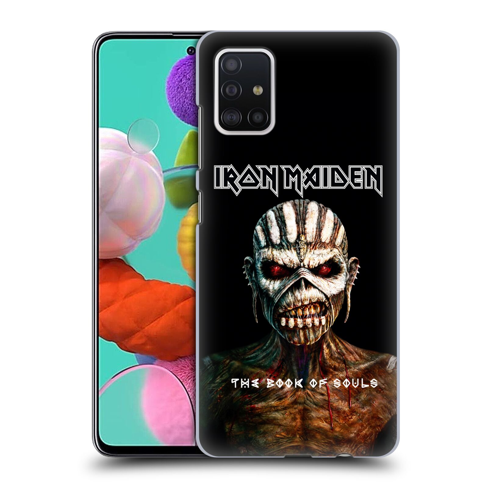 Plastové pouzdro na mobil Samsung Galaxy A51 - Head Case - Iron Maiden - The Book Of Souls