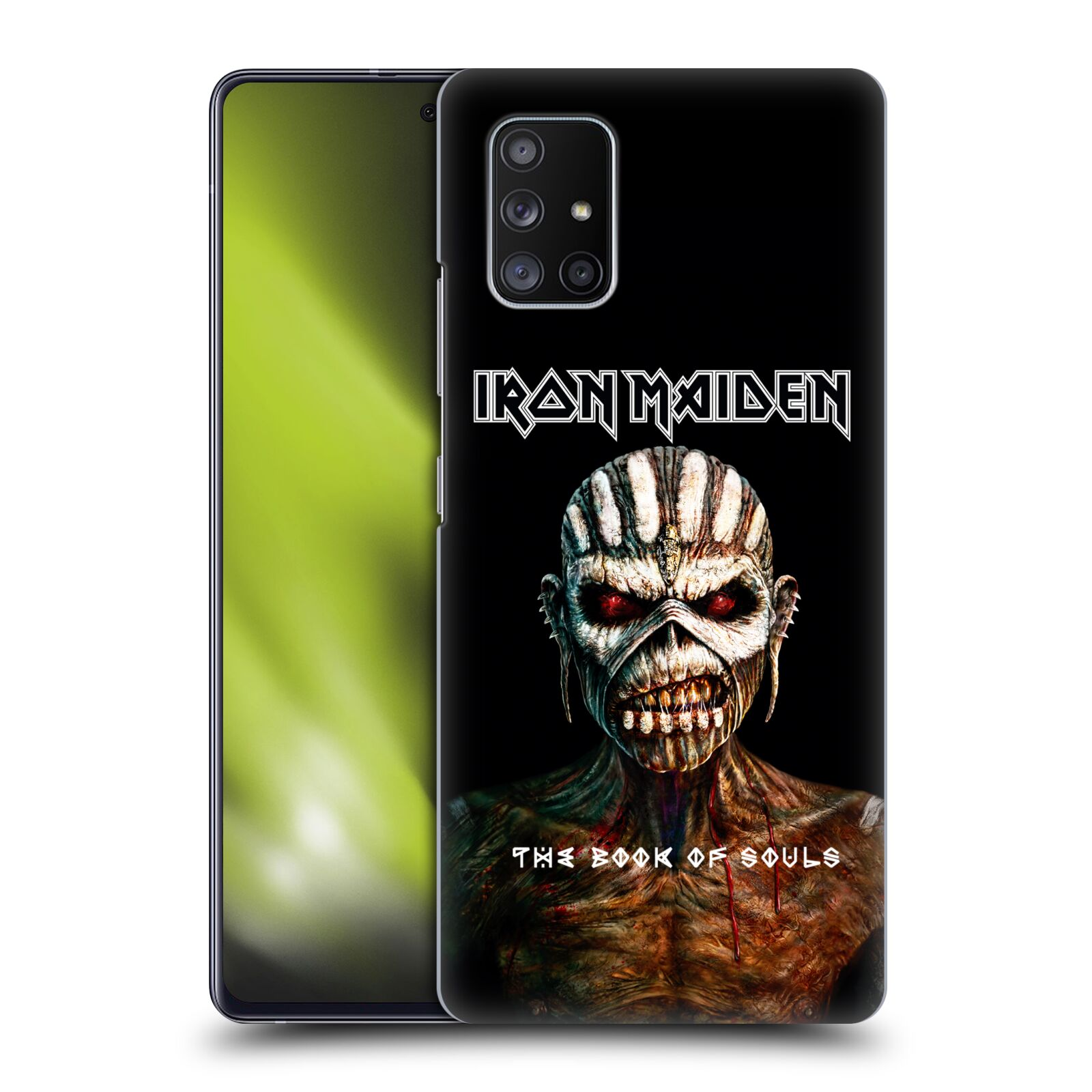 Plastové pouzdro na mobil Samsung Galaxy A51 5G - Head Case - Iron Maiden - The Book Of Souls