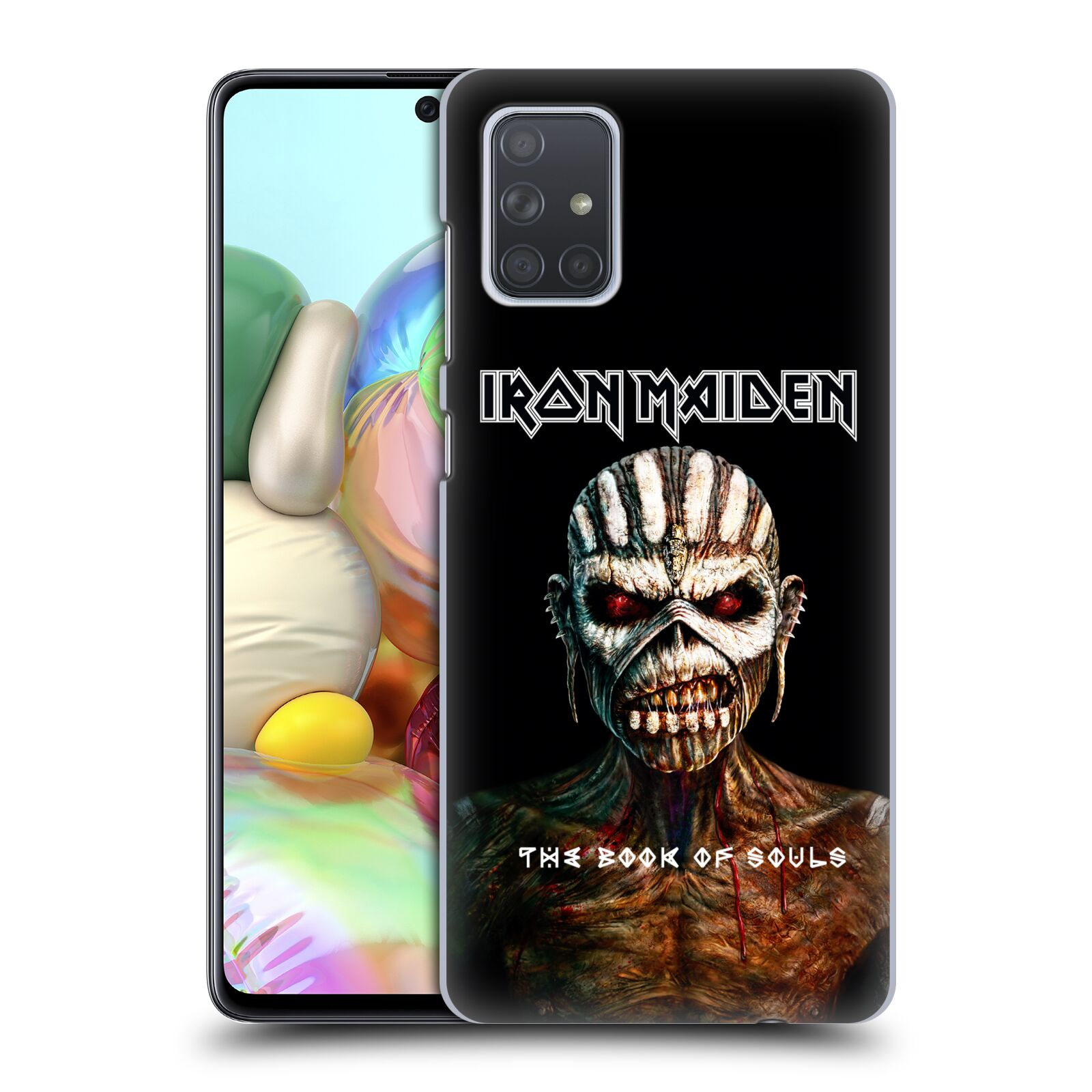 Plastové pouzdro na mobil Samsung Galaxy A71 - Head Case - Iron Maiden - The Book Of Souls