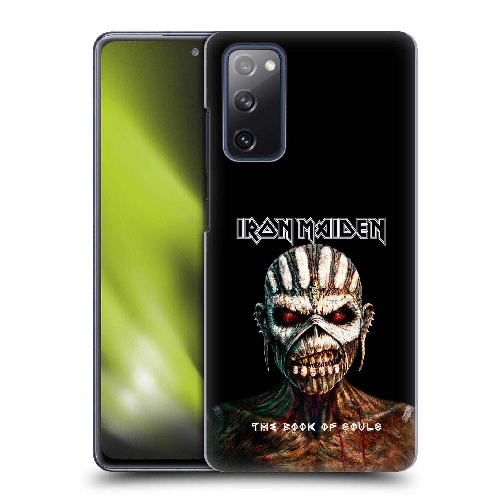Plastové pouzdro na mobil Samsung Galaxy S20 FE - Head Case - Iron Maiden - The Book Of Souls