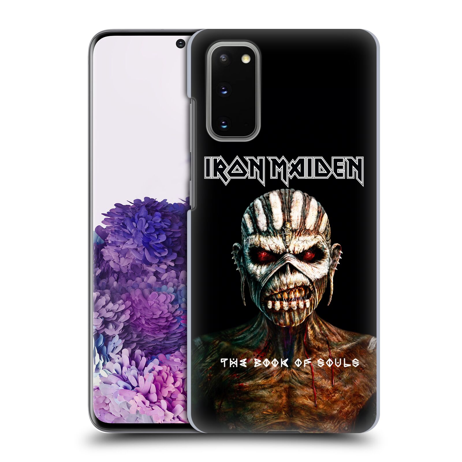 Plastové pouzdro na mobil Samsung Galaxy S20 - Head Case - Iron Maiden - The Book Of Souls