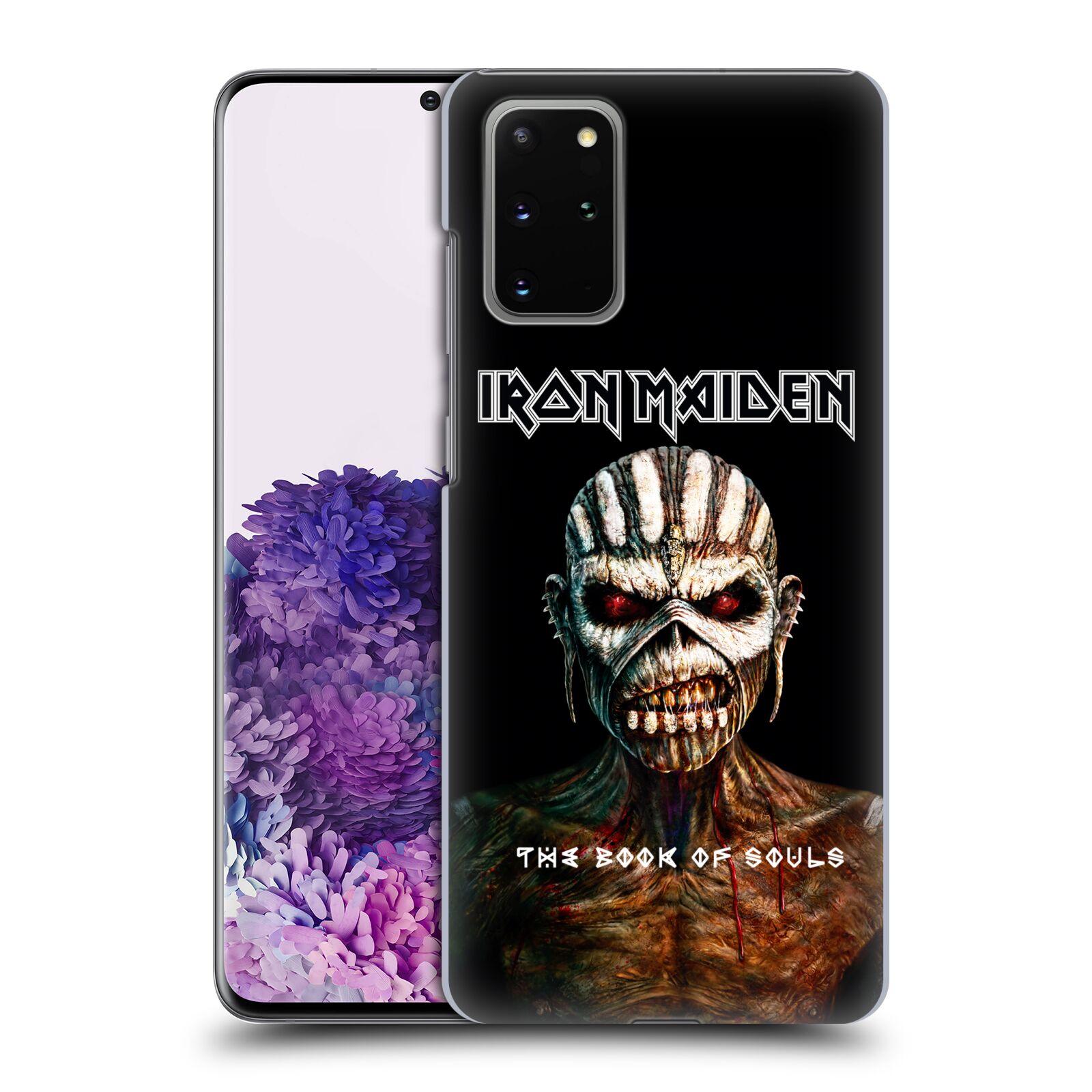Plastové pouzdro na mobil Samsung Galaxy S20 Plus - Head Case - Iron Maiden - The Book Of Souls