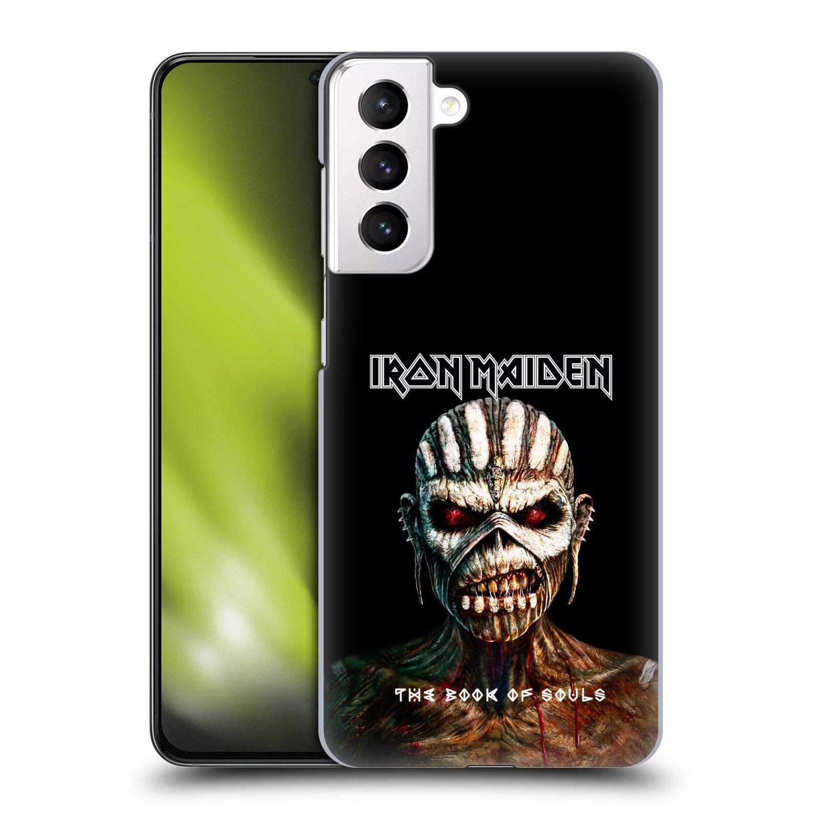 Plastové pouzdro na mobil Samsung Galaxy S21 Plus 5G - Head Case - Iron Maiden - The Book Of Souls