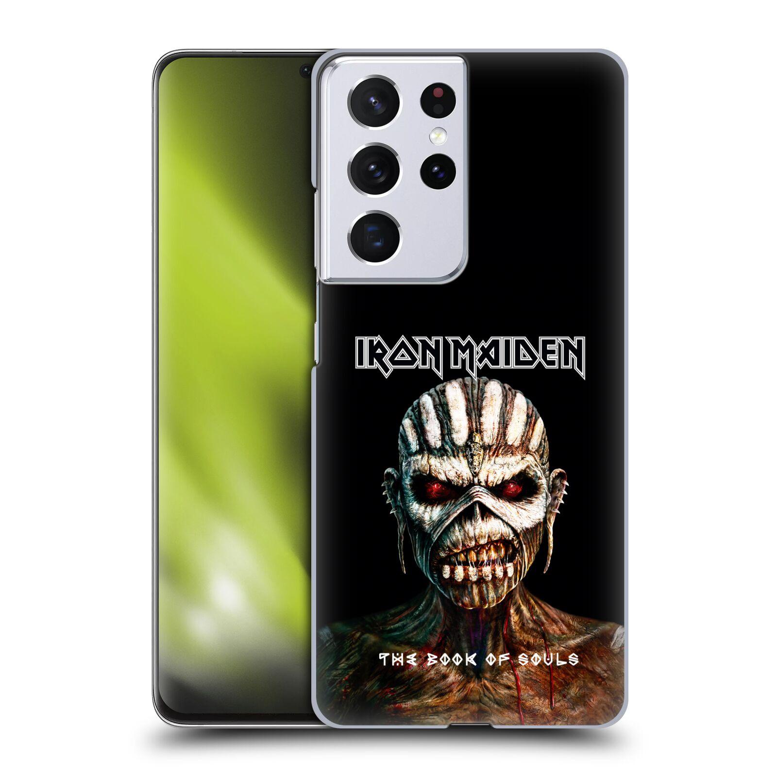 Plastové pouzdro na mobil Samsung Galaxy S21 Ultra 5G - Head Case - Iron Maiden - The Book Of Souls
