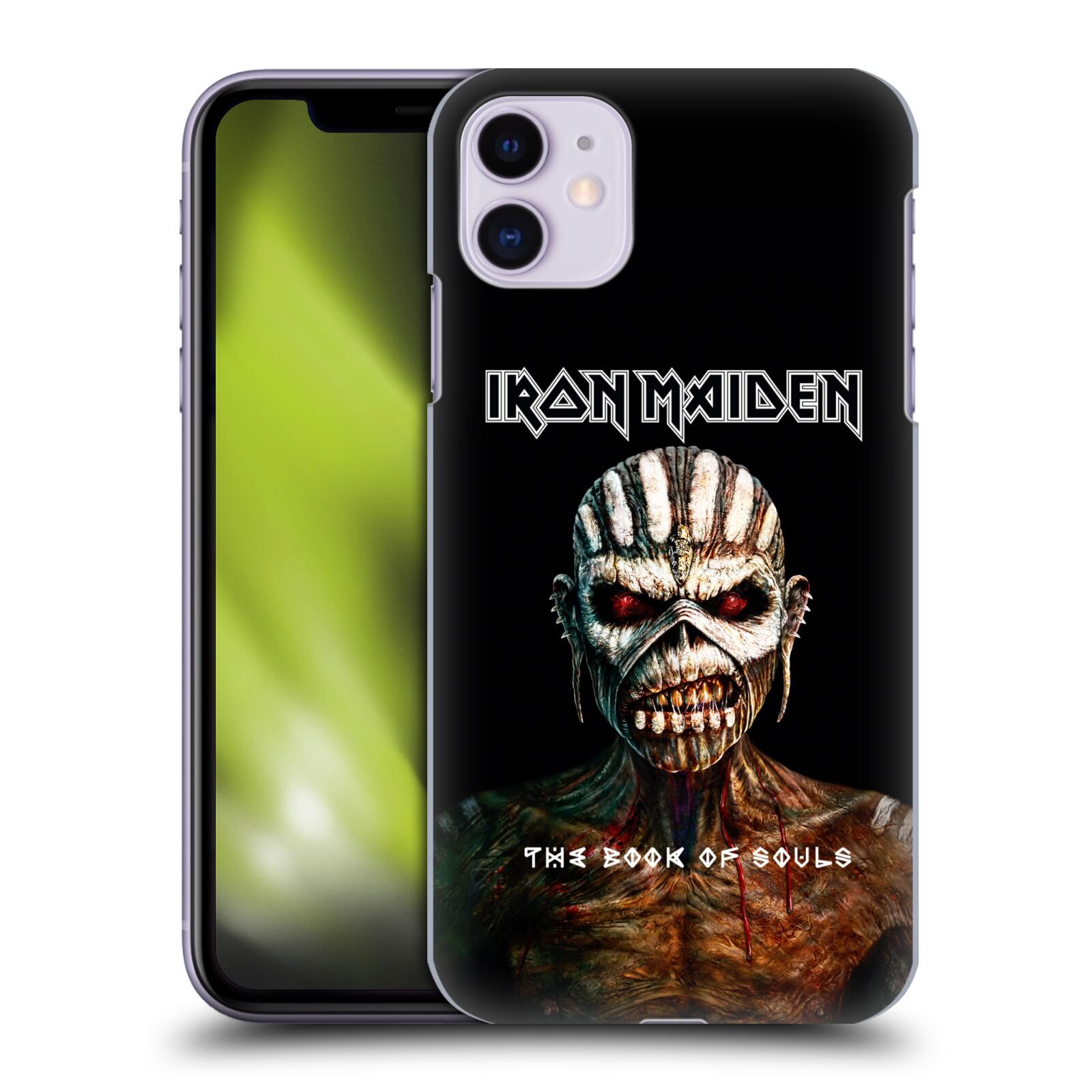 Plastové pouzdro na mobil Apple iPhone 11 - Head Case - Iron Maiden - The Book Of Souls