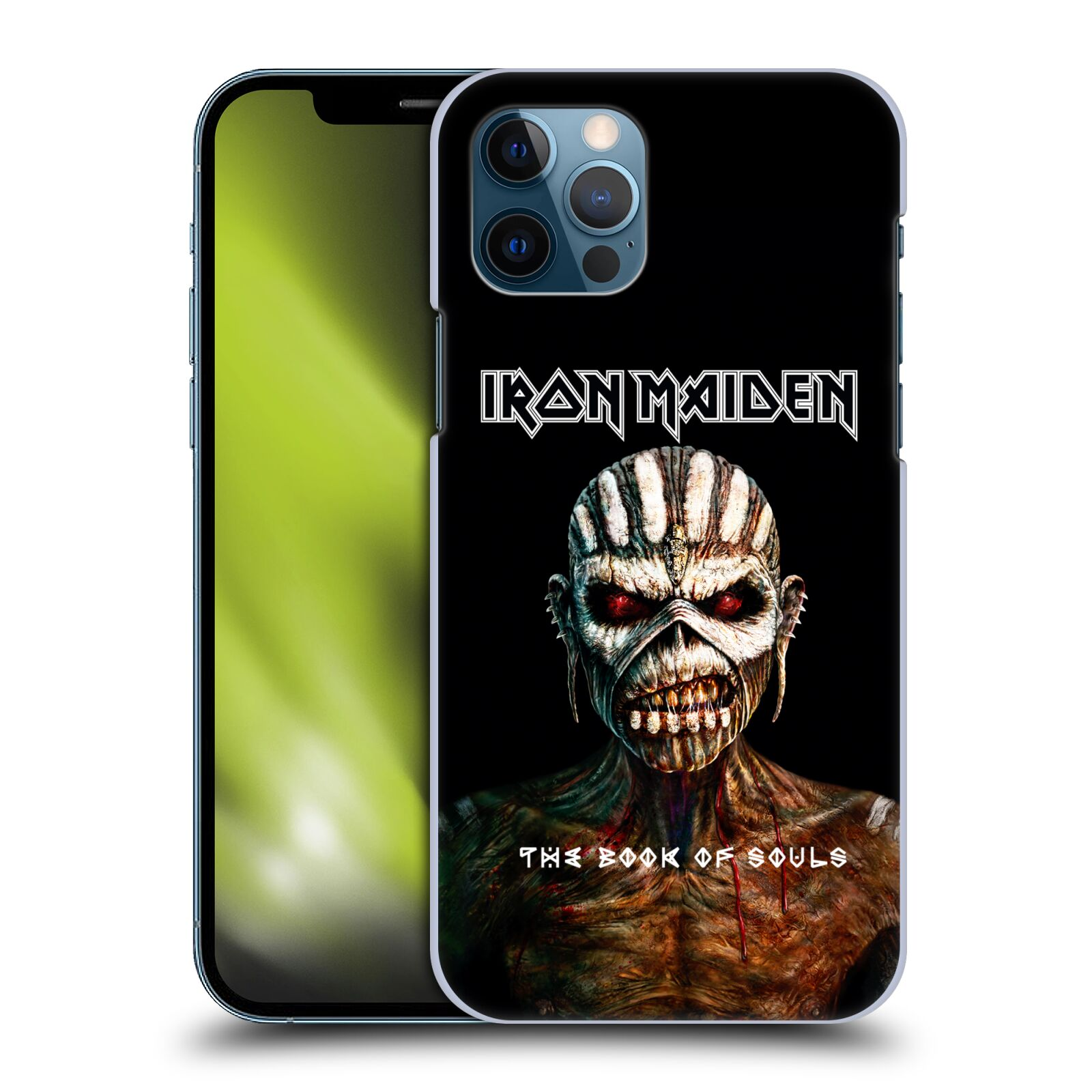 Plastové pouzdro na mobil Apple iPhone 12 / 12 Pro - Head Case - Iron Maiden - The Book Of Souls