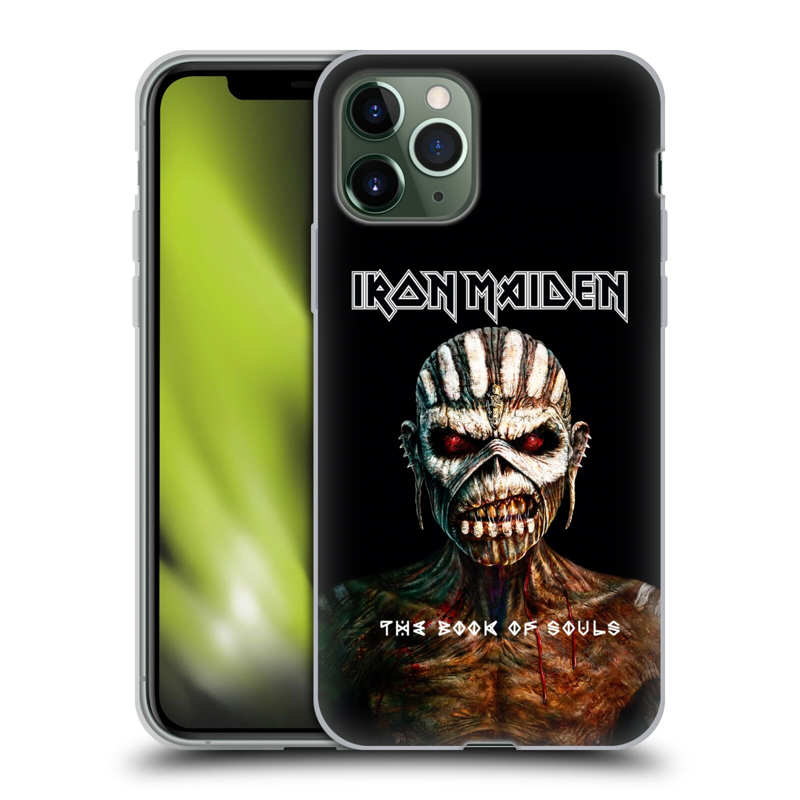 obal adidas na iphone x | Silikonové pouzdro na mobil Apple iPhone 11 Pro - Head Case - Iron Maiden - The Book Of Souls