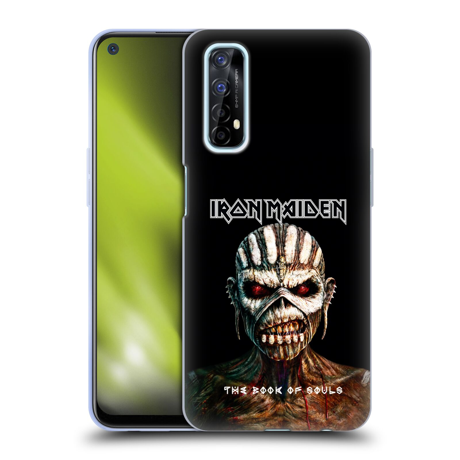 Silikonové pouzdro na mobil Realme 7 - Head Case - Iron Maiden - The Book Of Souls