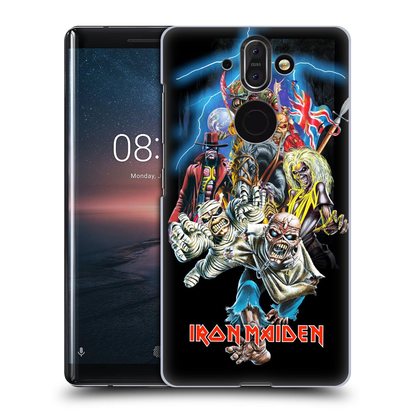 Plastové pouzdro na mobil Nokia 8 Sirocco - Head Case - Iron Maiden - Best Of Beast