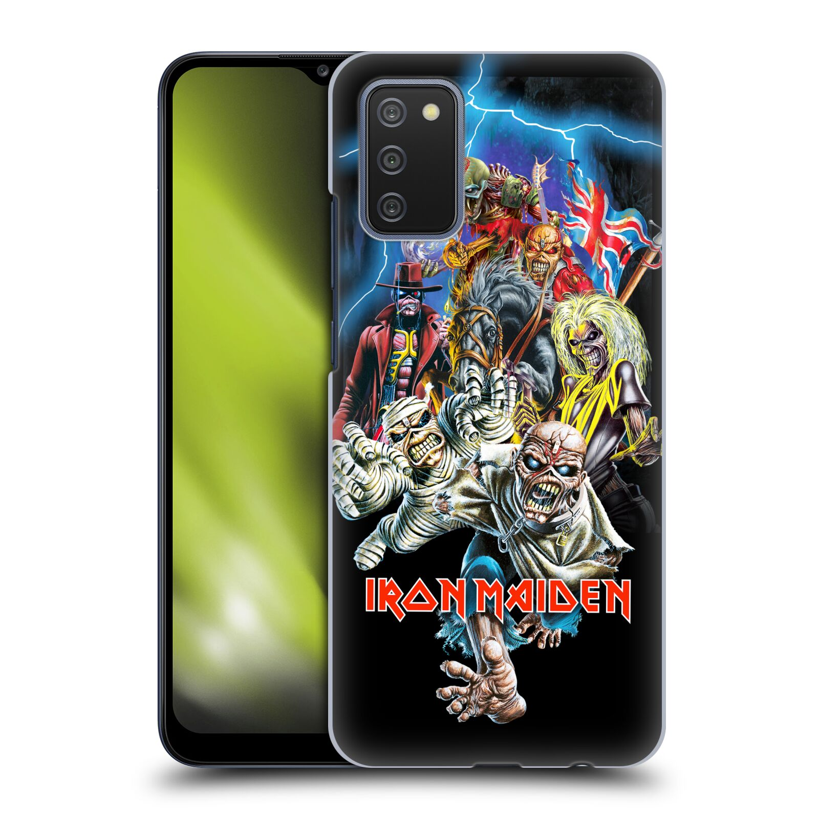 Plastové pouzdro na mobil Samsung Galaxy A02s - Head Case - Iron Maiden - Best Of Beast
