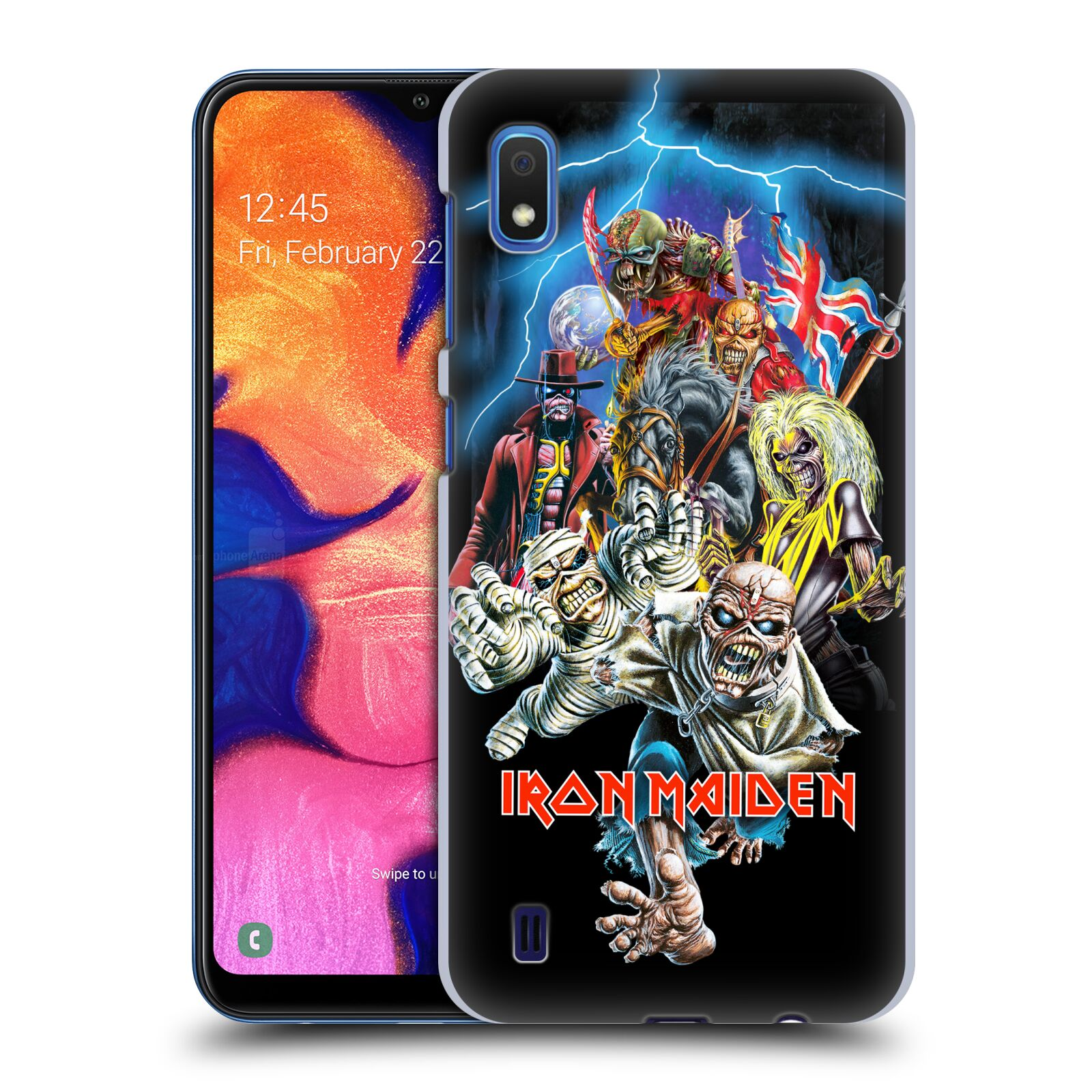 Plastové pouzdro na mobil Samsung Galaxy A10 - Head Case - Iron Maiden - Best Of Beast