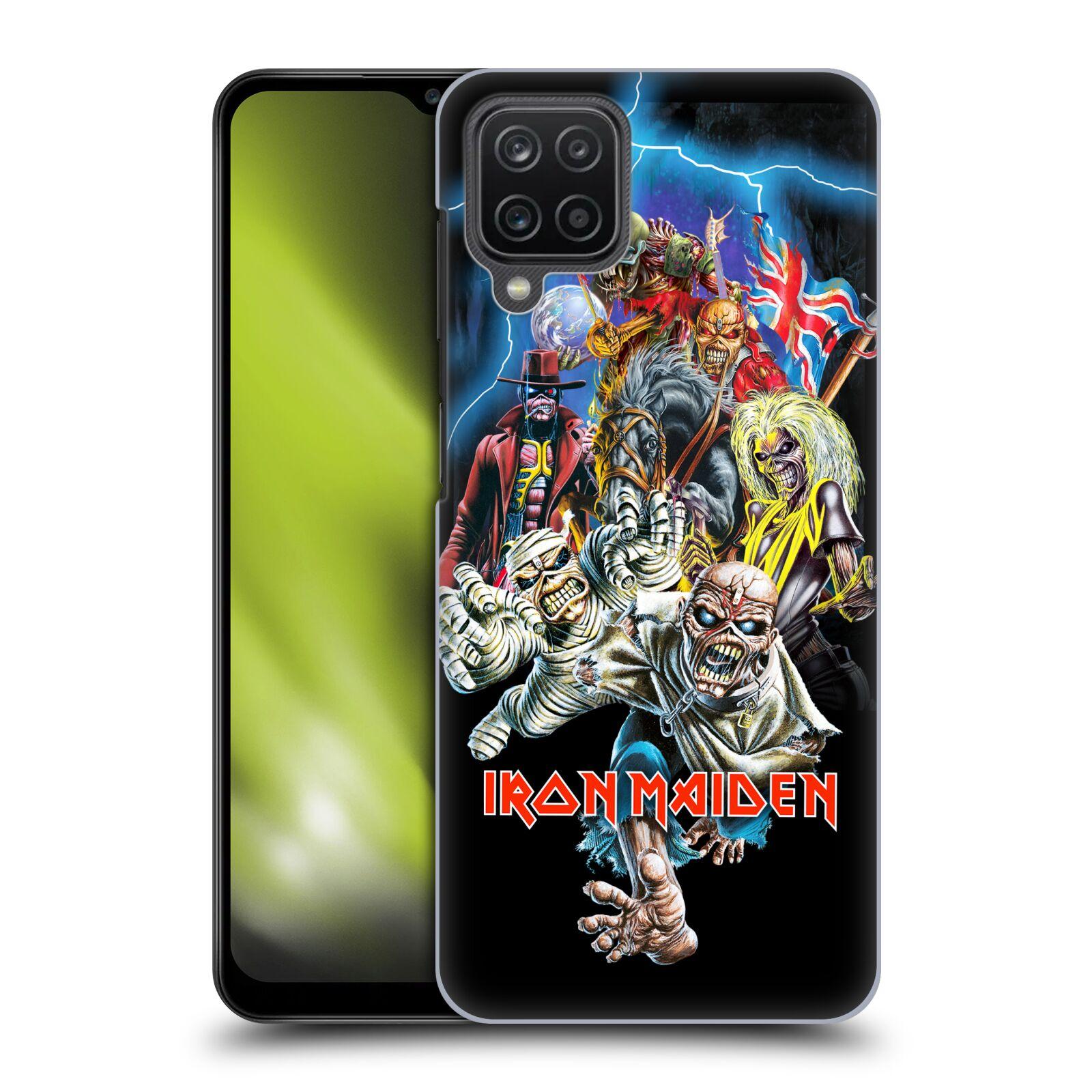 Plastové pouzdro na mobil Samsung Galaxy A12 - Head Case - Iron Maiden - Best Of Beast